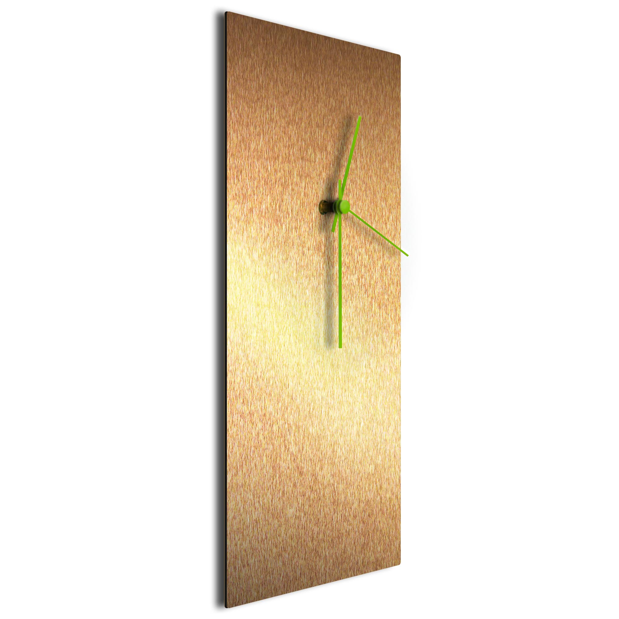 Bronzesmith Clock Large Green - Image 2