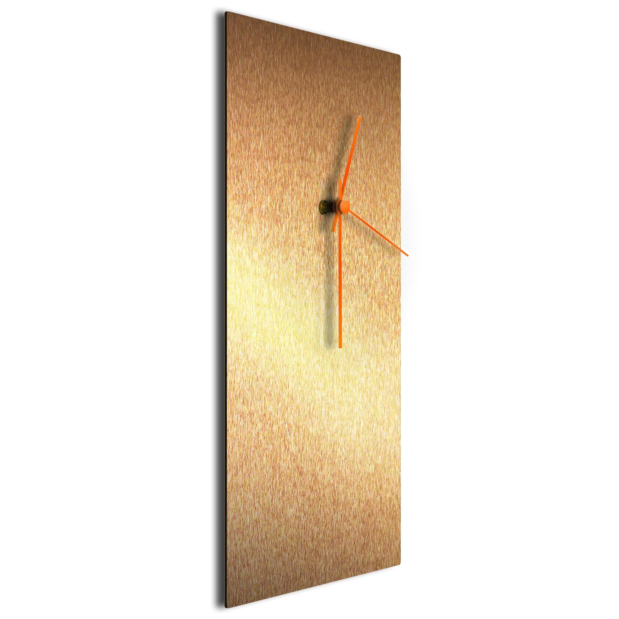 Bronzesmith Clock Large Orange - Image 2