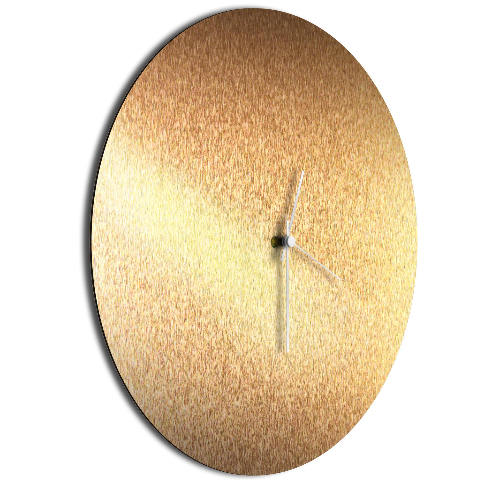 Bronzesmith Circle Clock Large White - Image 2