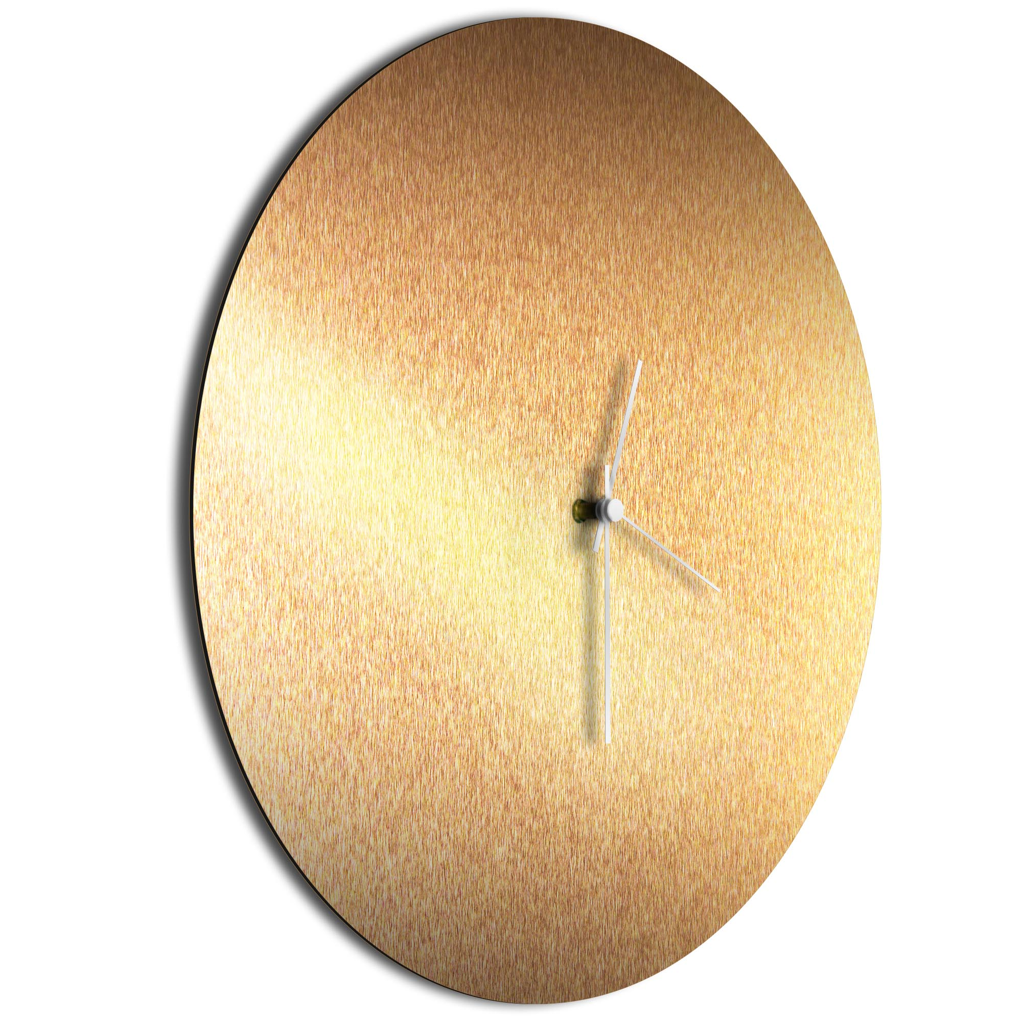 Bronzesmith Circle Clock White - Image 2