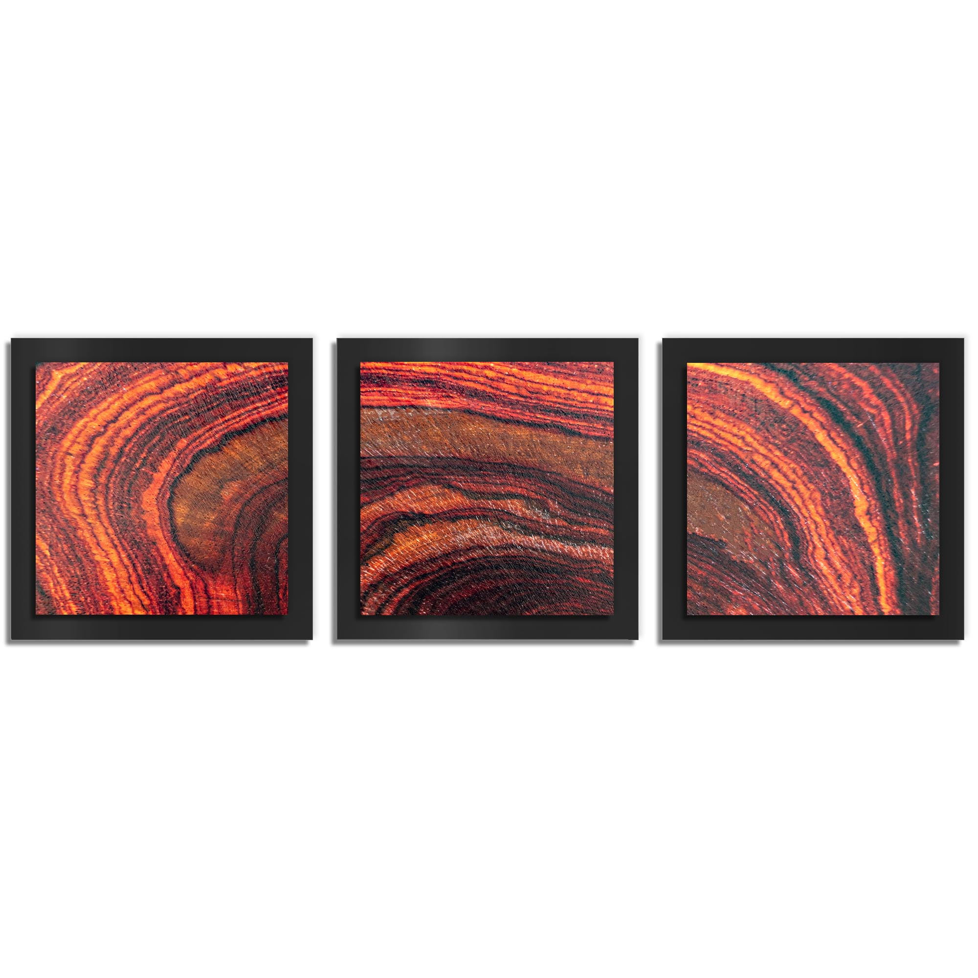 Adam Schwoeppe 'Arched Wood Essence Black' 38in x 12in Contemporary Style Wood Wall Art
