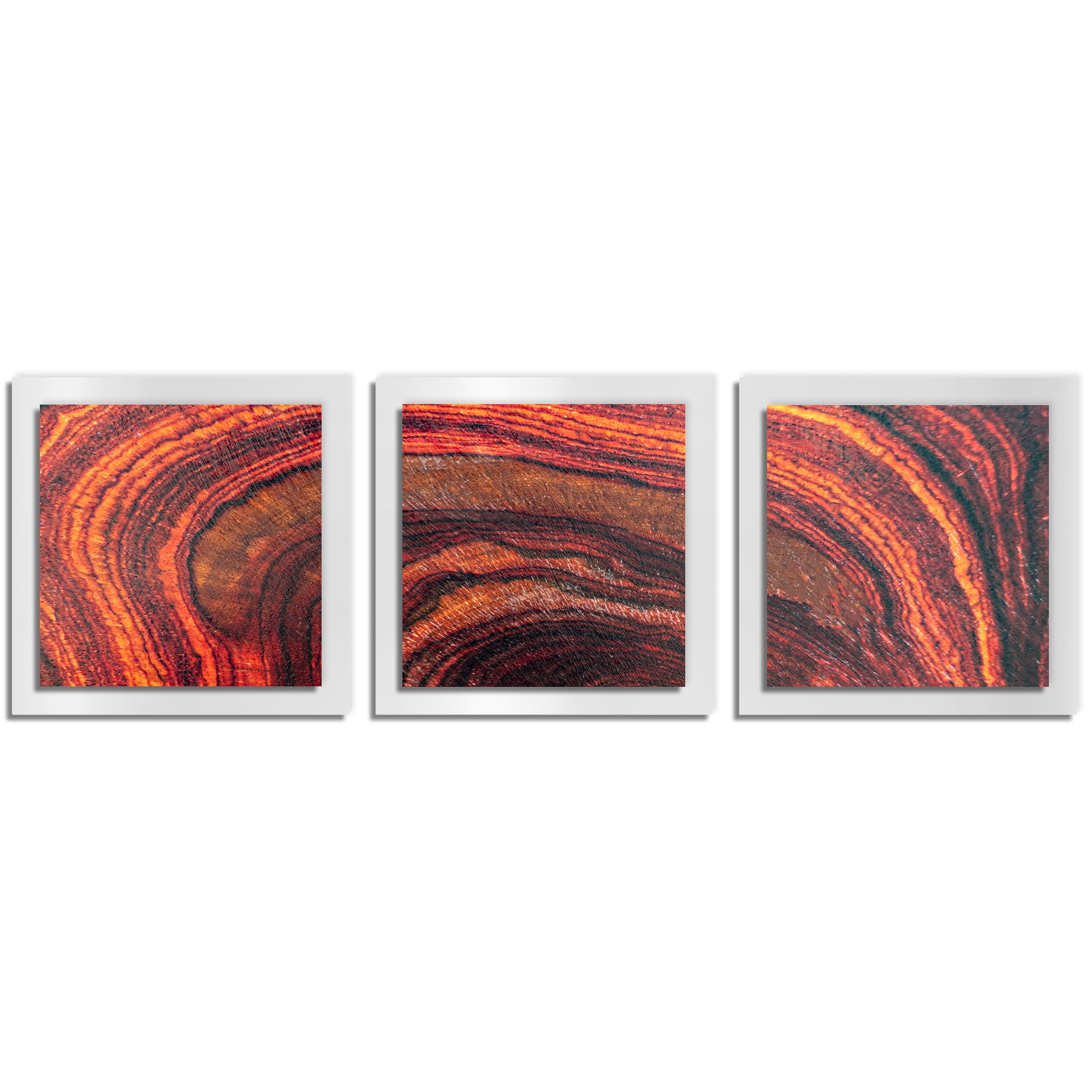 Adam Schwoeppe 'Arched Wood Essence White' 38in x 12in Contemporary Style Wood Wall Art