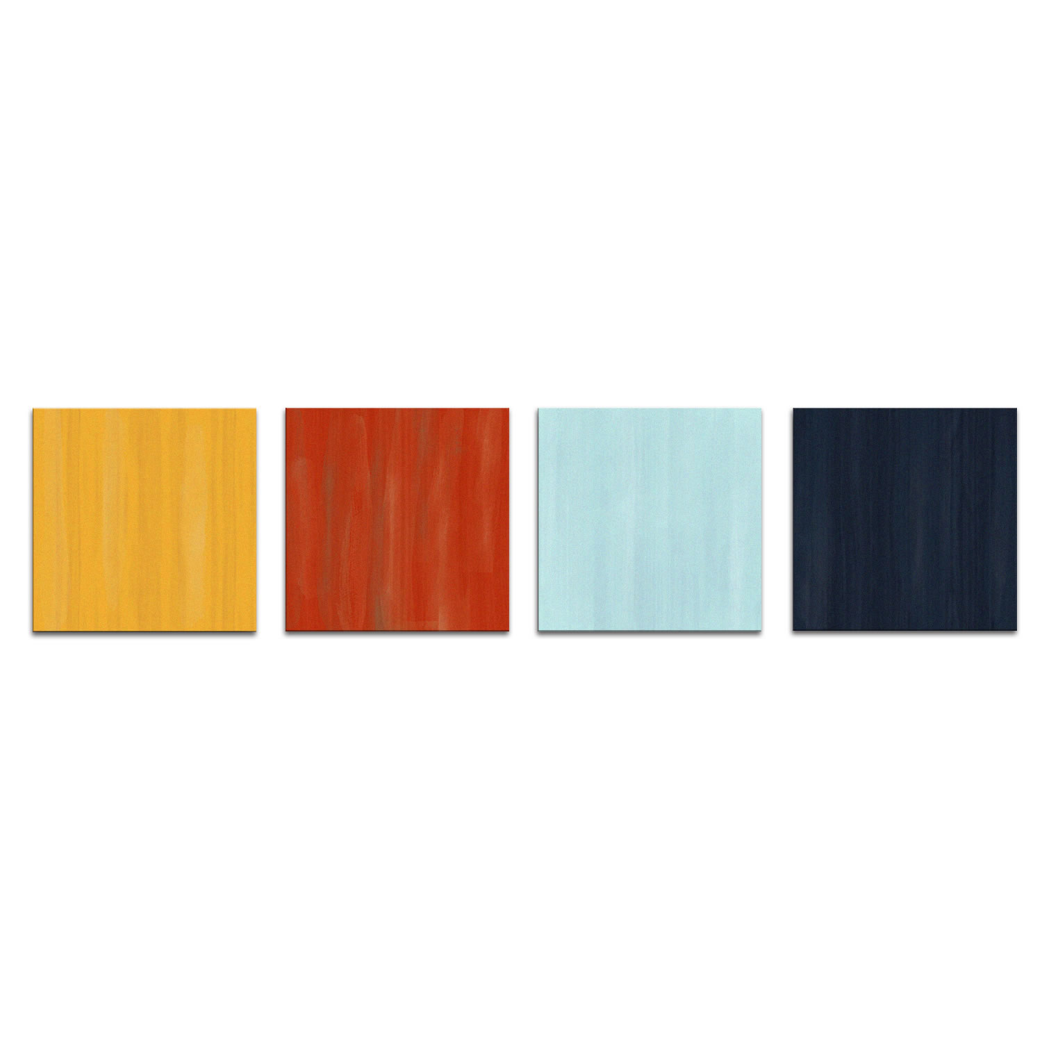 Hot and Cold - Colorful Contemporary Accents by Elana Reiter