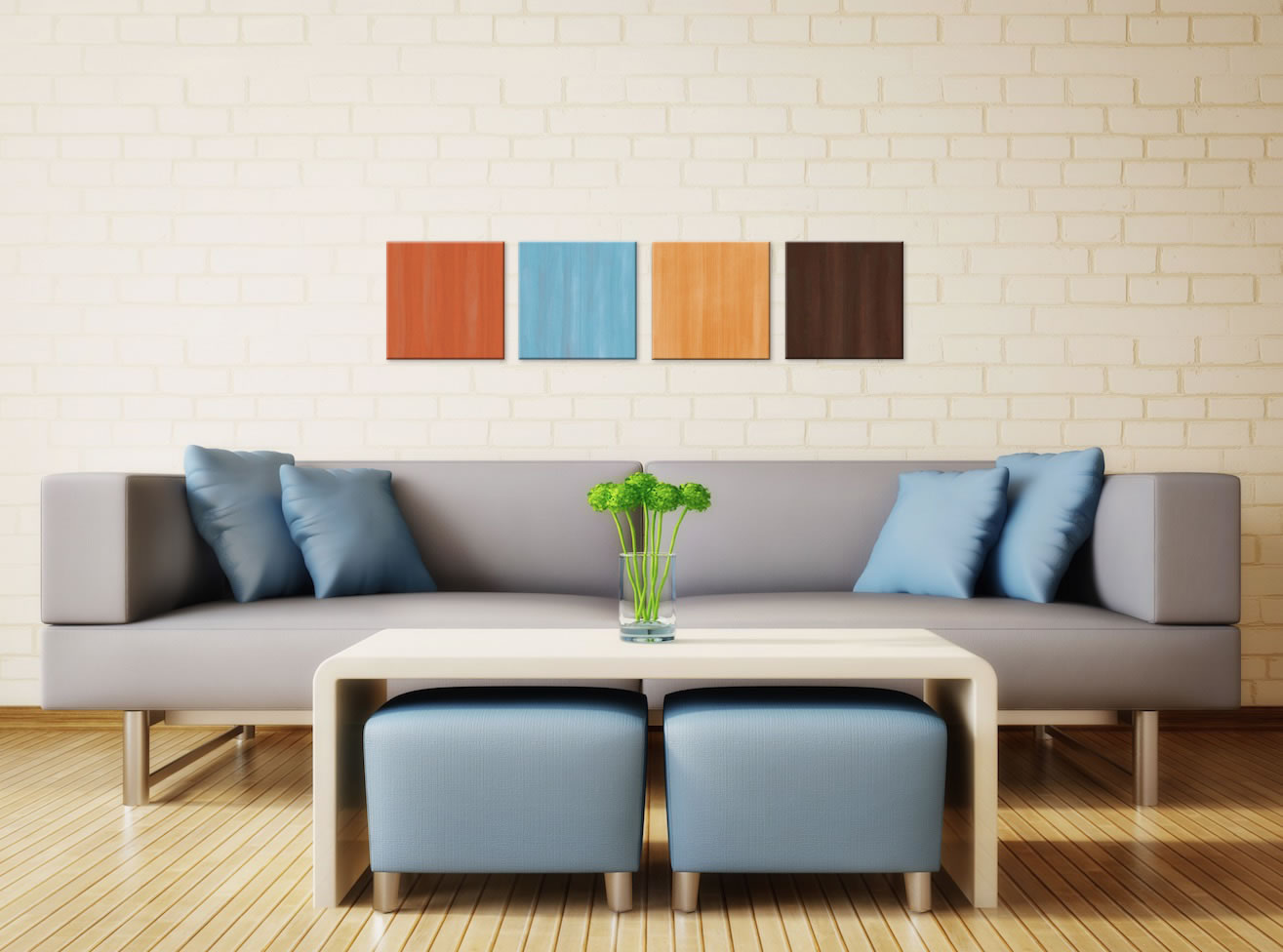 Cozy - Colorful Contemporary Accents by Celeste Reiter - Lifestyle Image