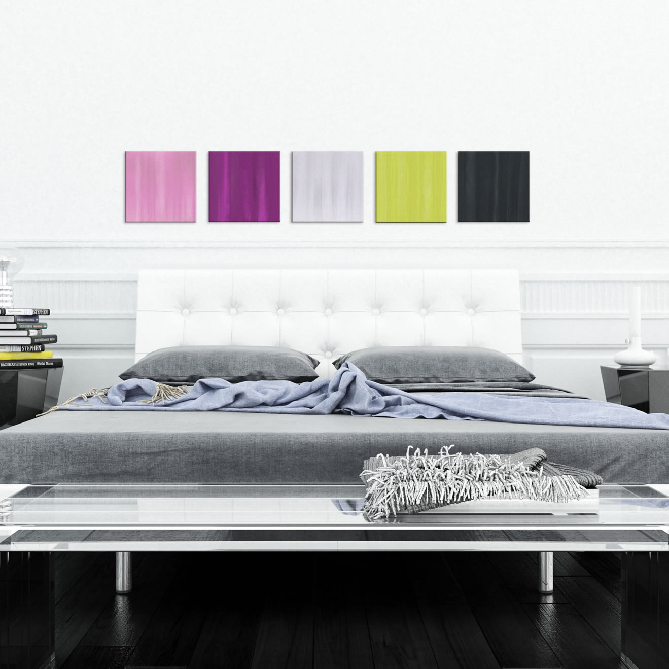 Field of Color - Colorful Contemporary Accents by Celeste Reiter - Lifestyle Image