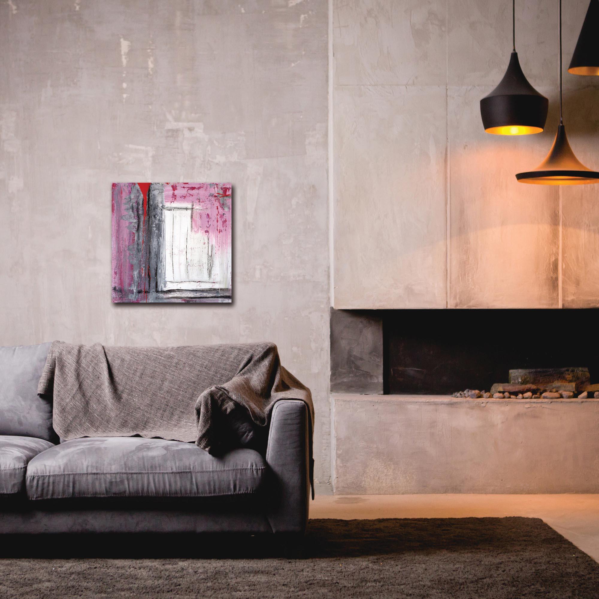 Abstract Wall Art 'Urban Life 5' - Urban Decor on Metal or Plexiglass - Lifestyle View