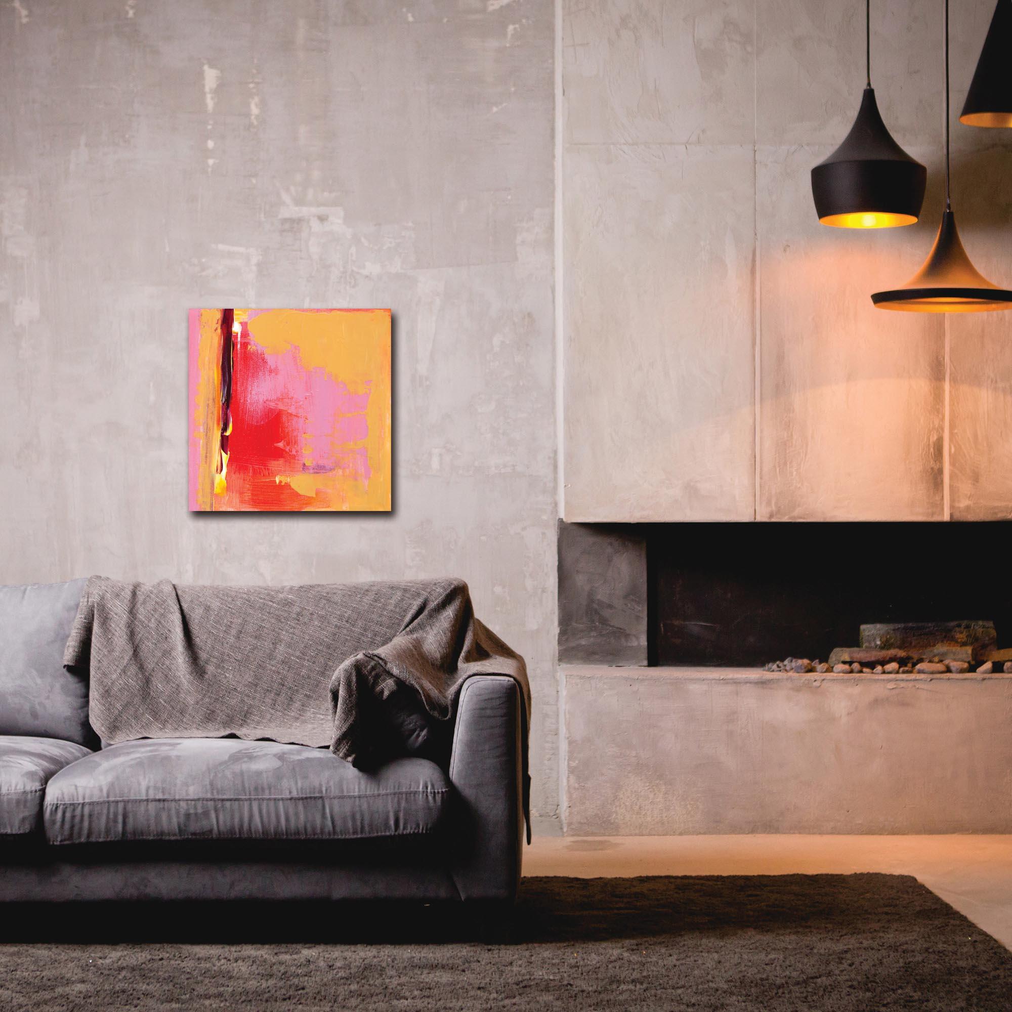 Abstract Wall Art 'Urban Life 6' - Urban Decor on Metal or Plexiglass - Lifestyle View