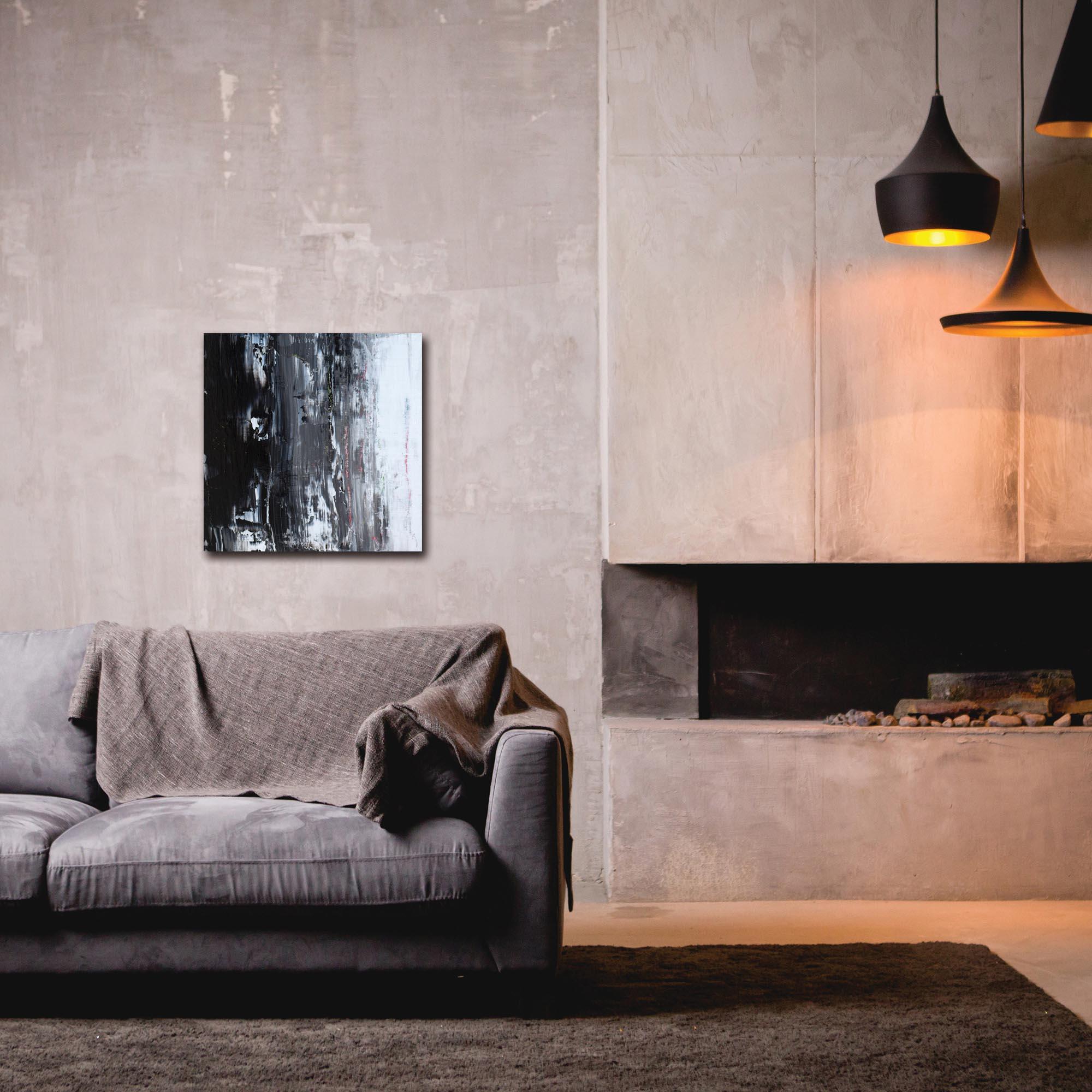 Abstract Wall Art 'Urban Life 11' - Urban Decor on Metal or Plexiglass - Lifestyle View