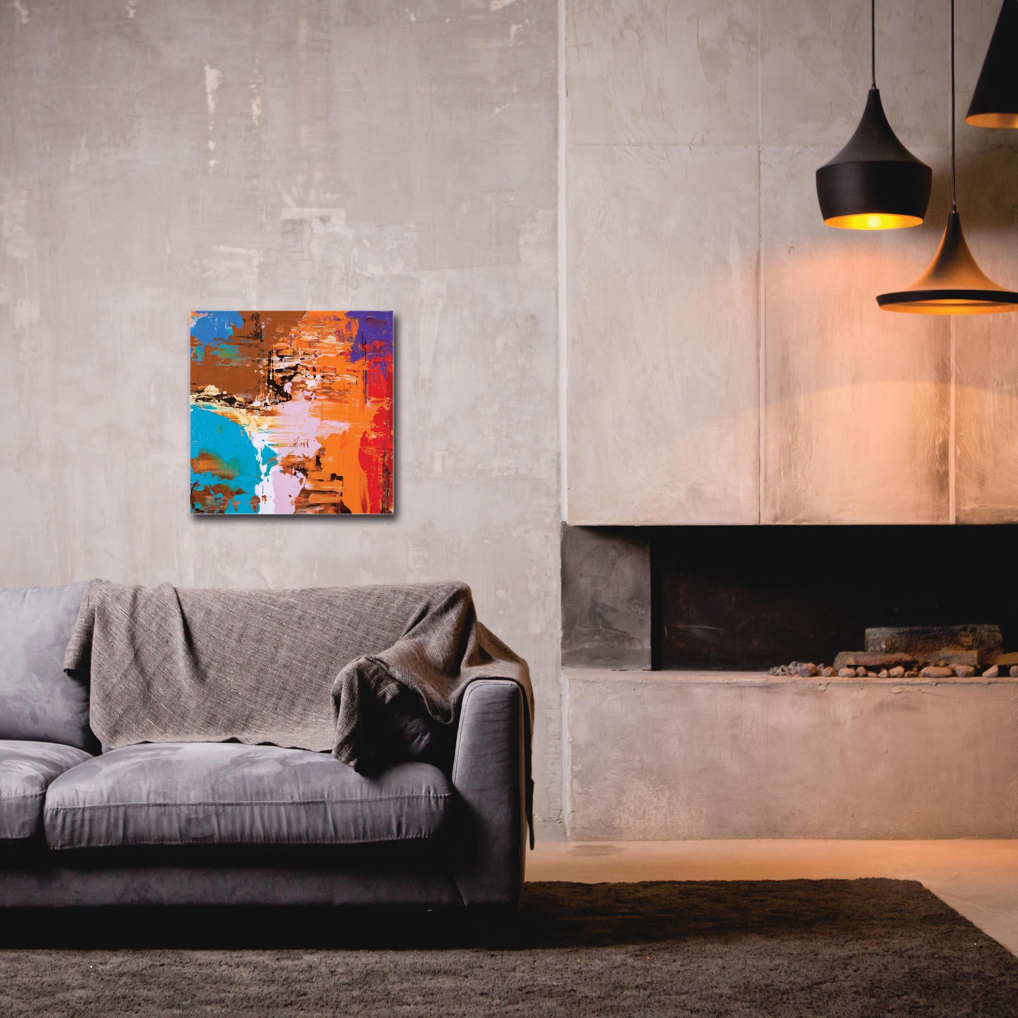 Abstract Wall Art 'Urban Life 14' - Urban Decor on Metal or Plexiglass - Image 3