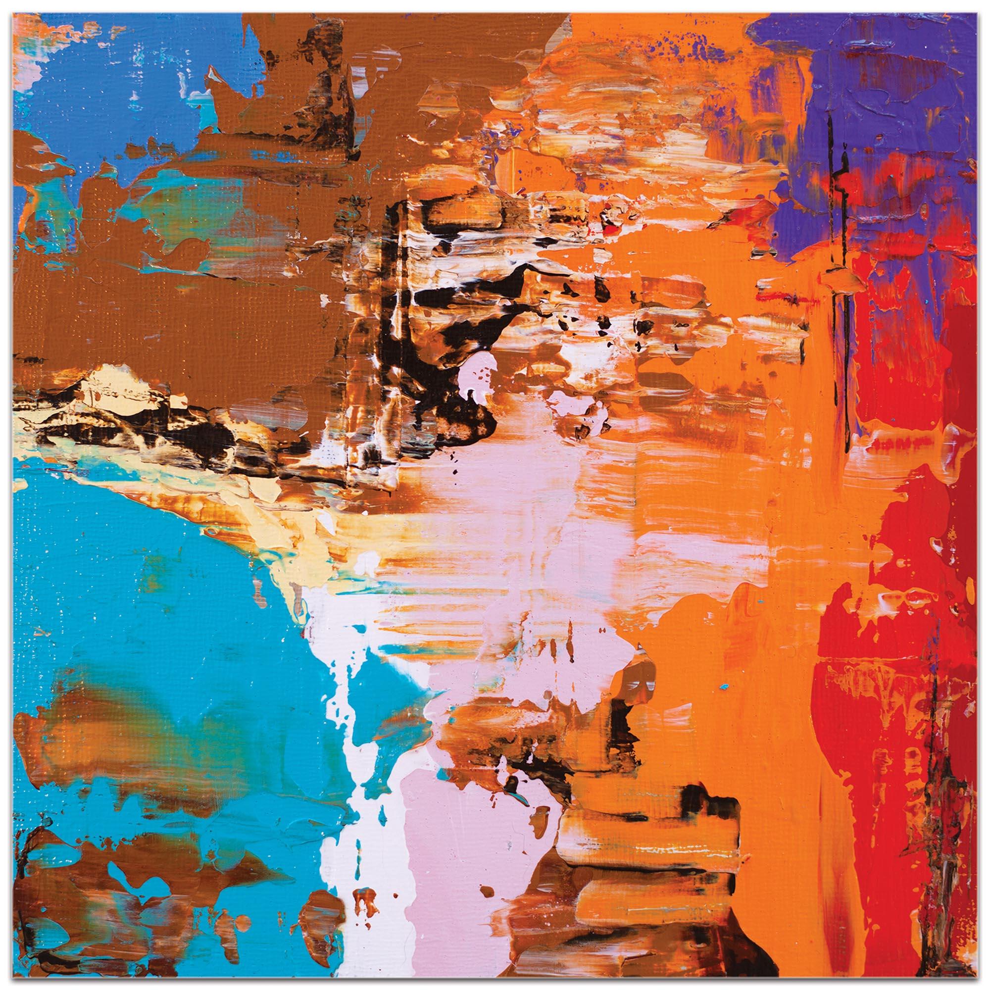 Abstract Wall Art 'Urban Life 14' - Urban Decor on Metal or Plexiglass - Image 2