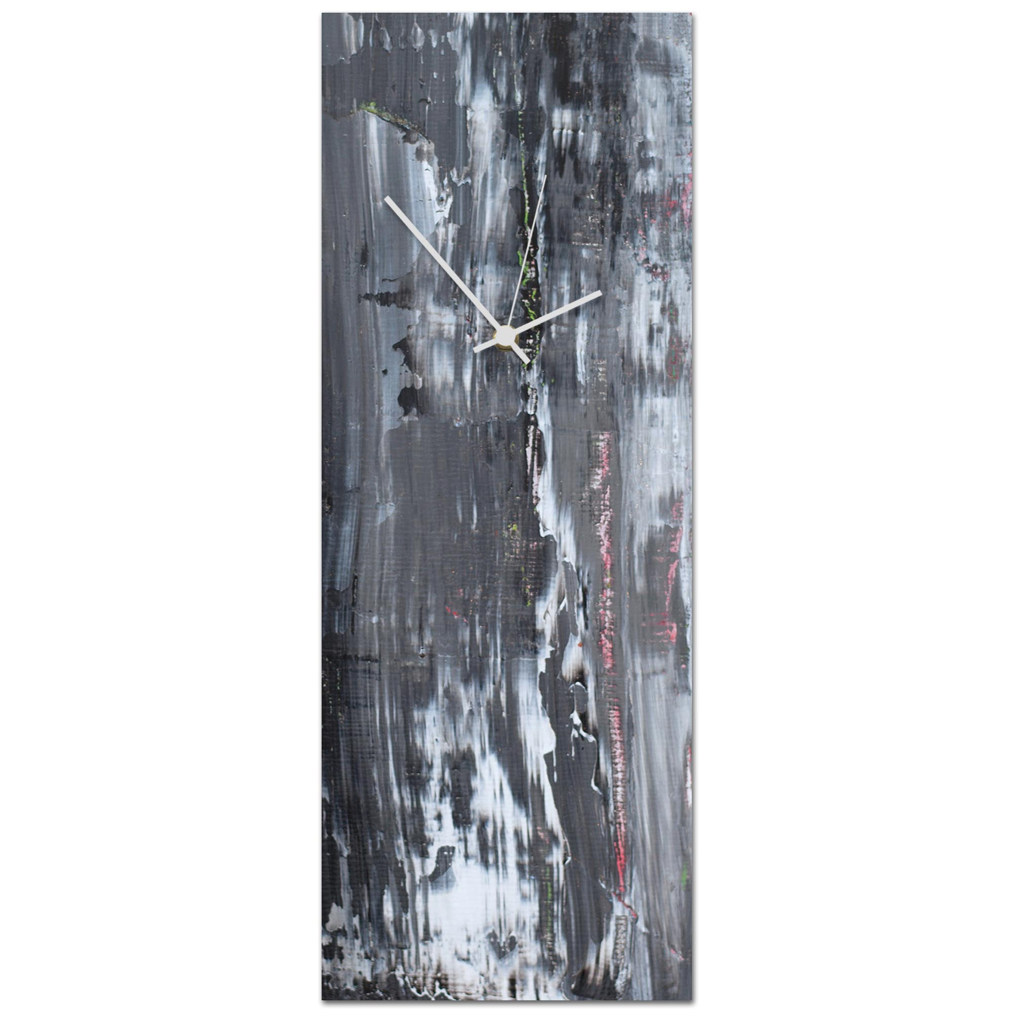 Urban Slate Clock Large 9x24in. Metal