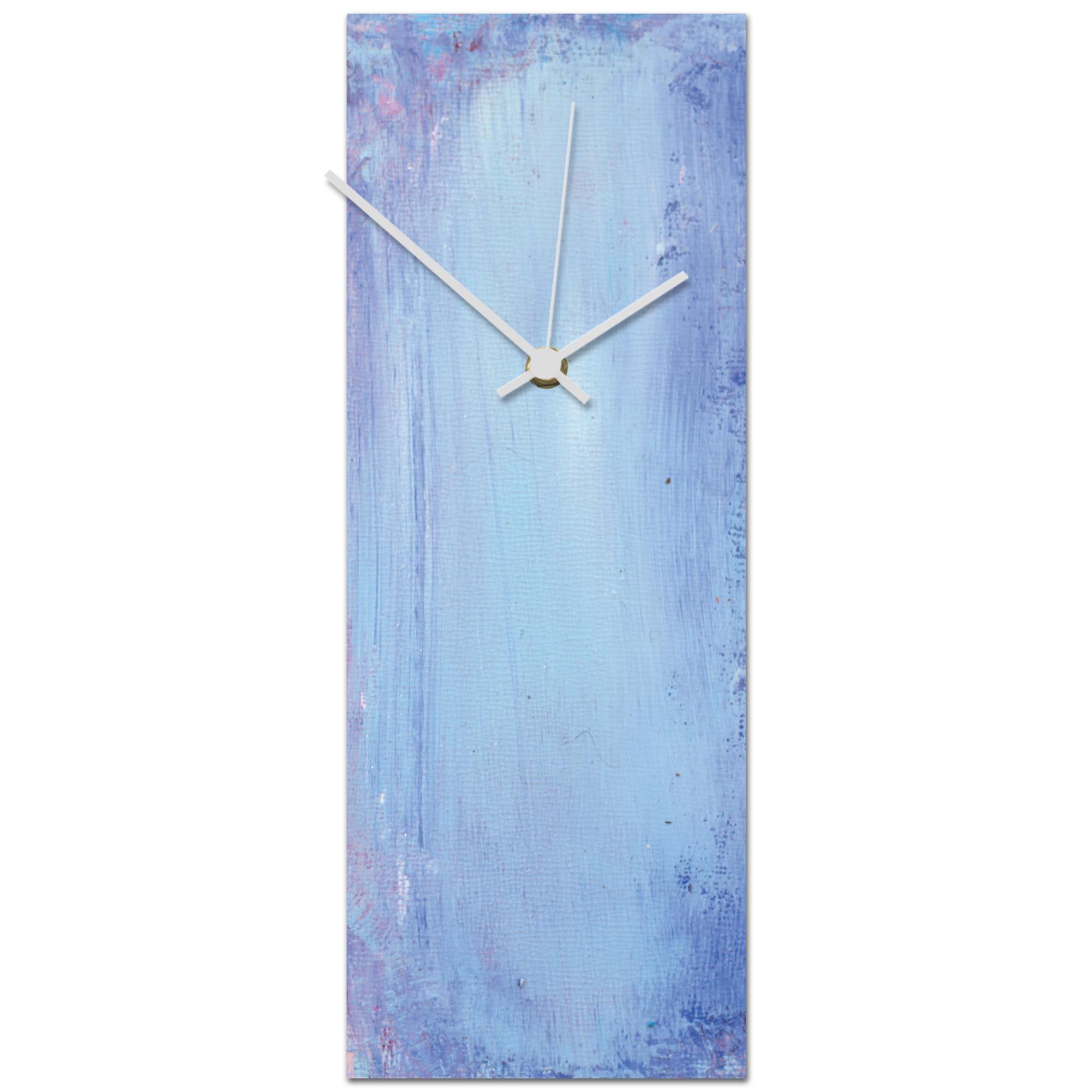 Urban Sky Clock 6x16in. Metal