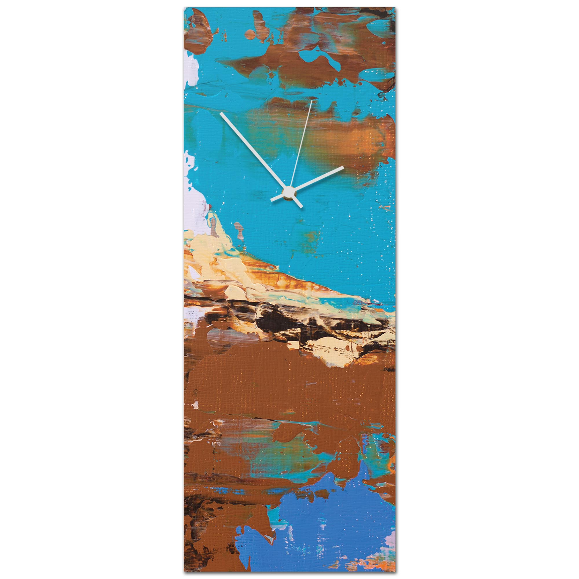 Urban Earth v3 Clock Large 9x24in. Metal