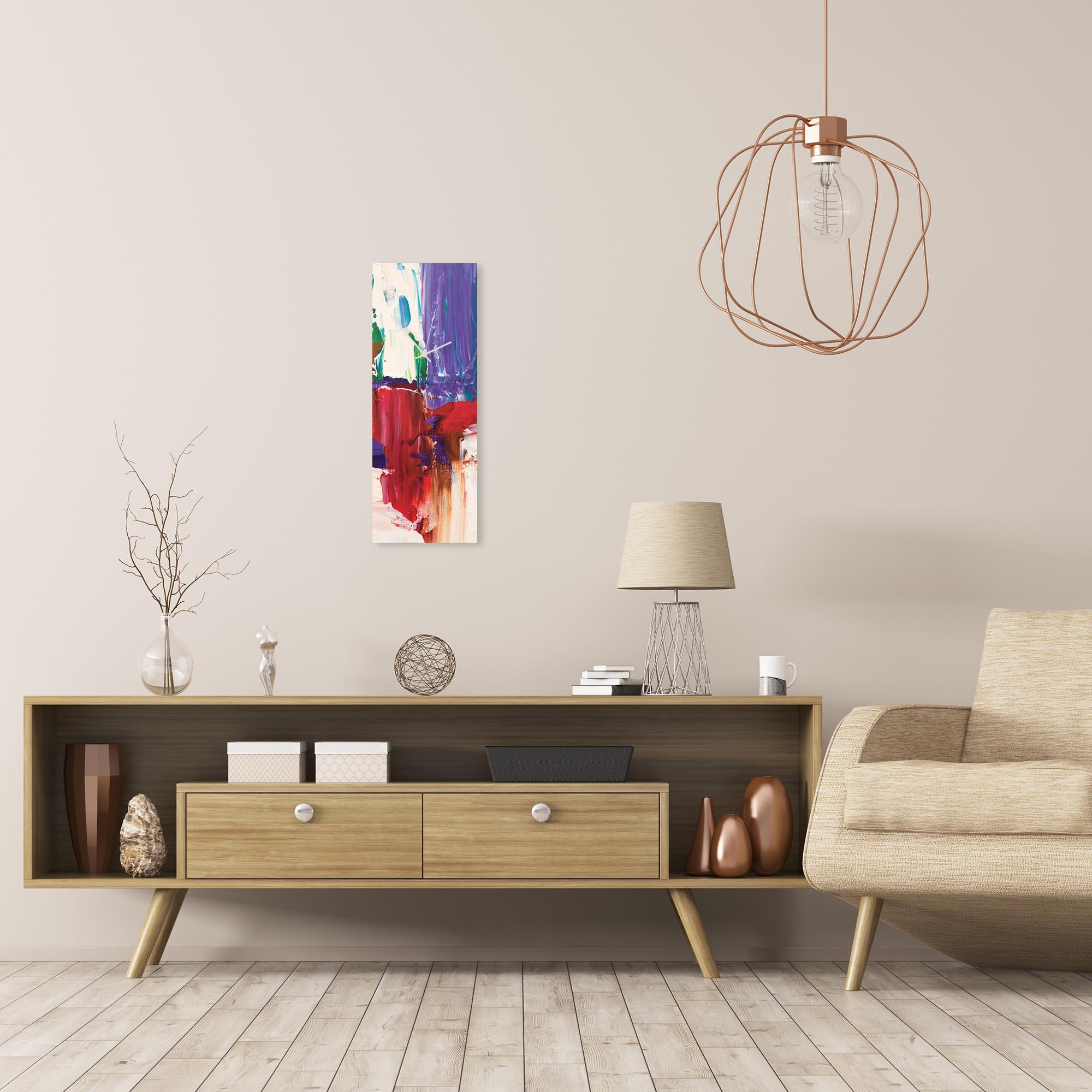 Urban Earth v6 Clock Large by Celeste Reiter Modern Wall Clock on Metal - Alternate View 1