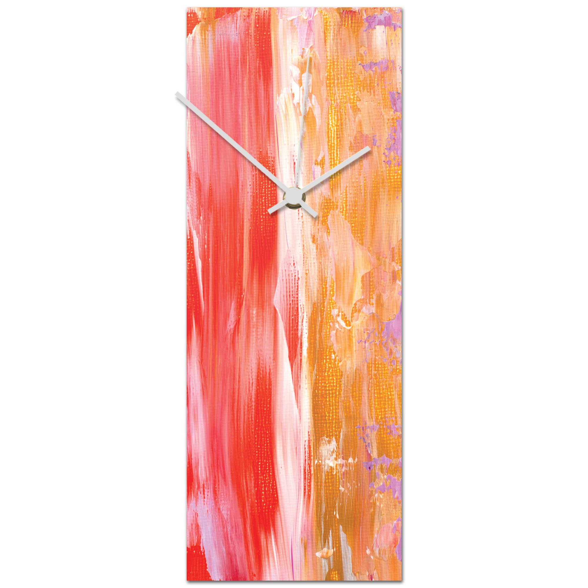 Urban Warmth v5 Clock 6x16in. Metal