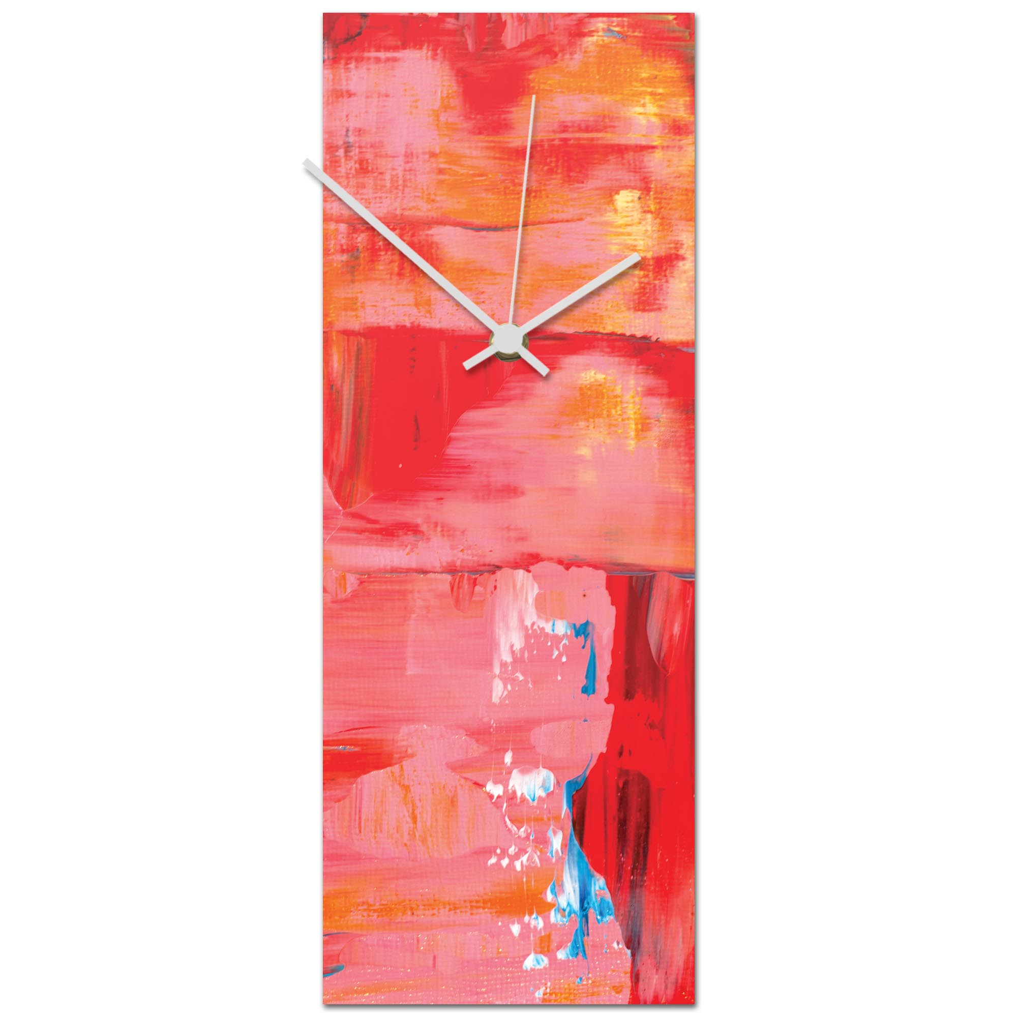 Urban Warmth v6 Clock 6x16in. Metal