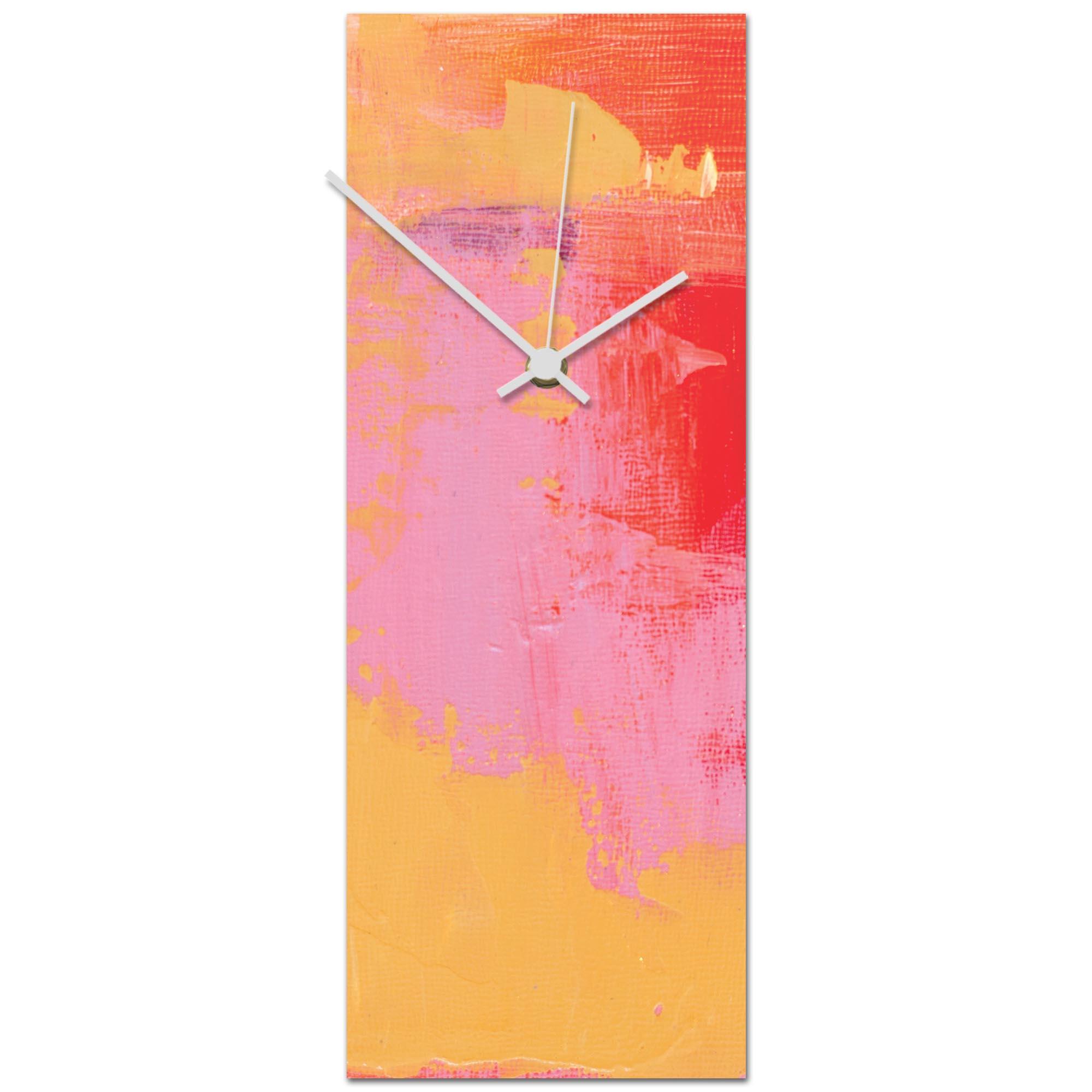 Urban Warmth v7 Clock 6x16in. Metal