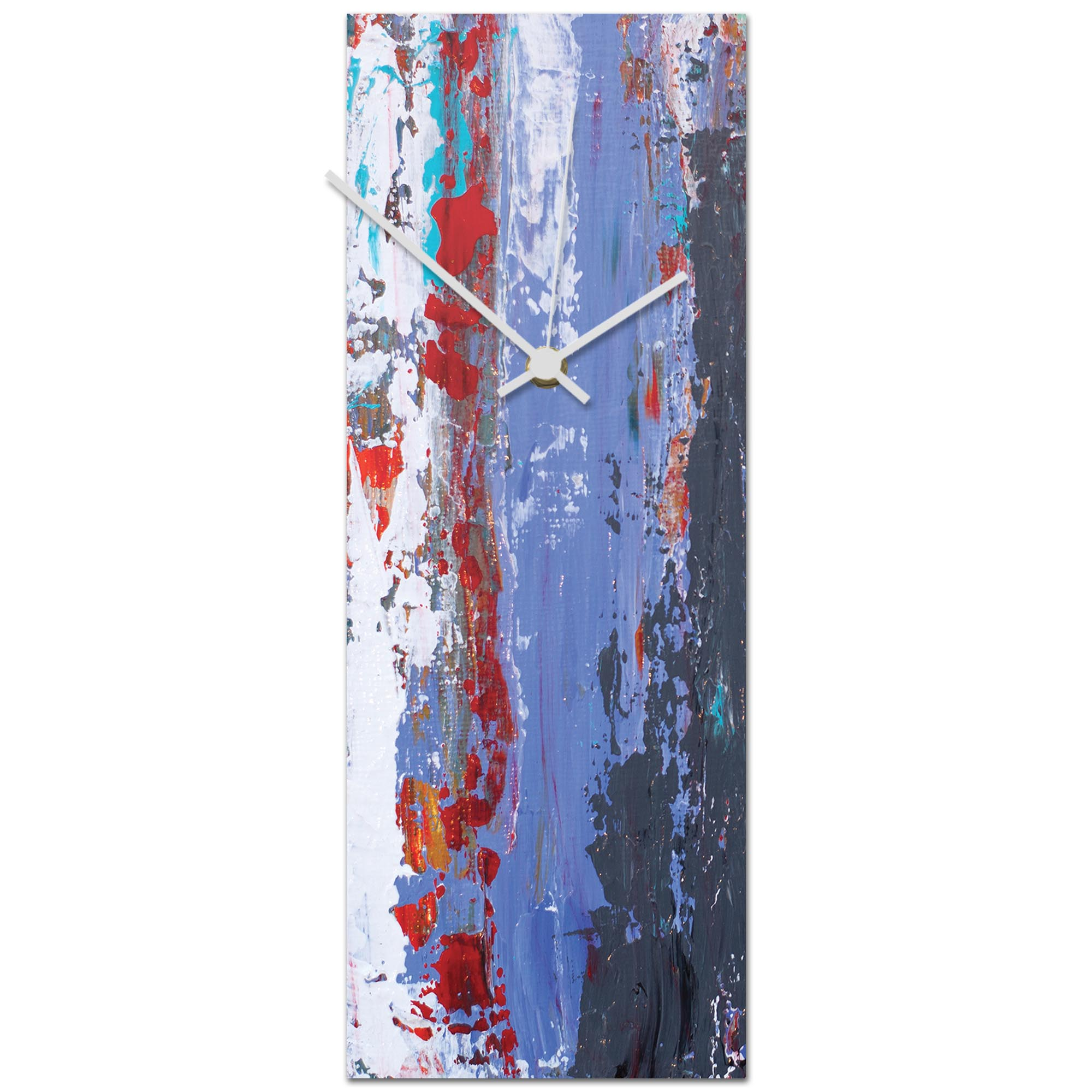 Urban Cool v1 Clock 6x16in. Metal