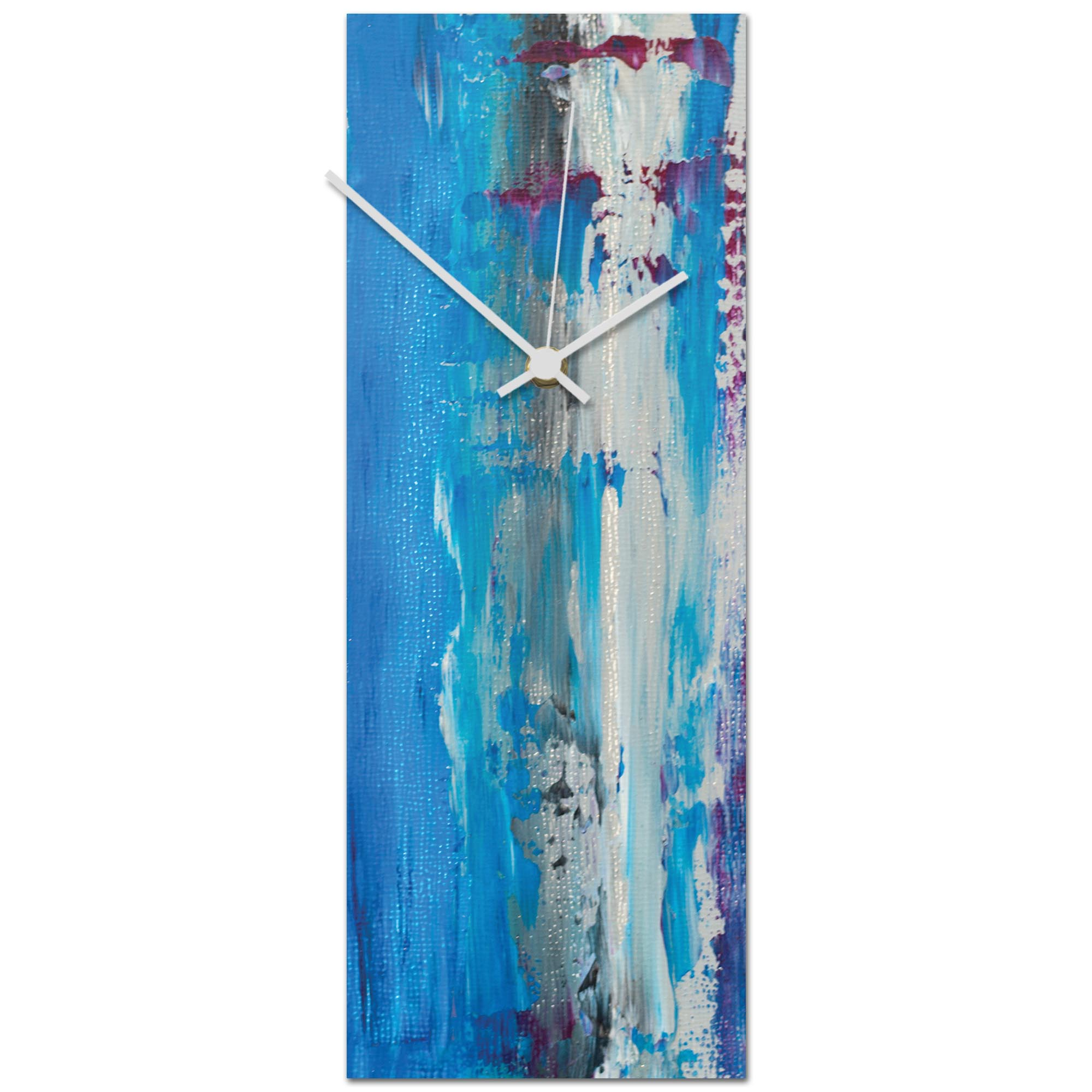 Urban Cool v4 Clock 6x16in. Metal