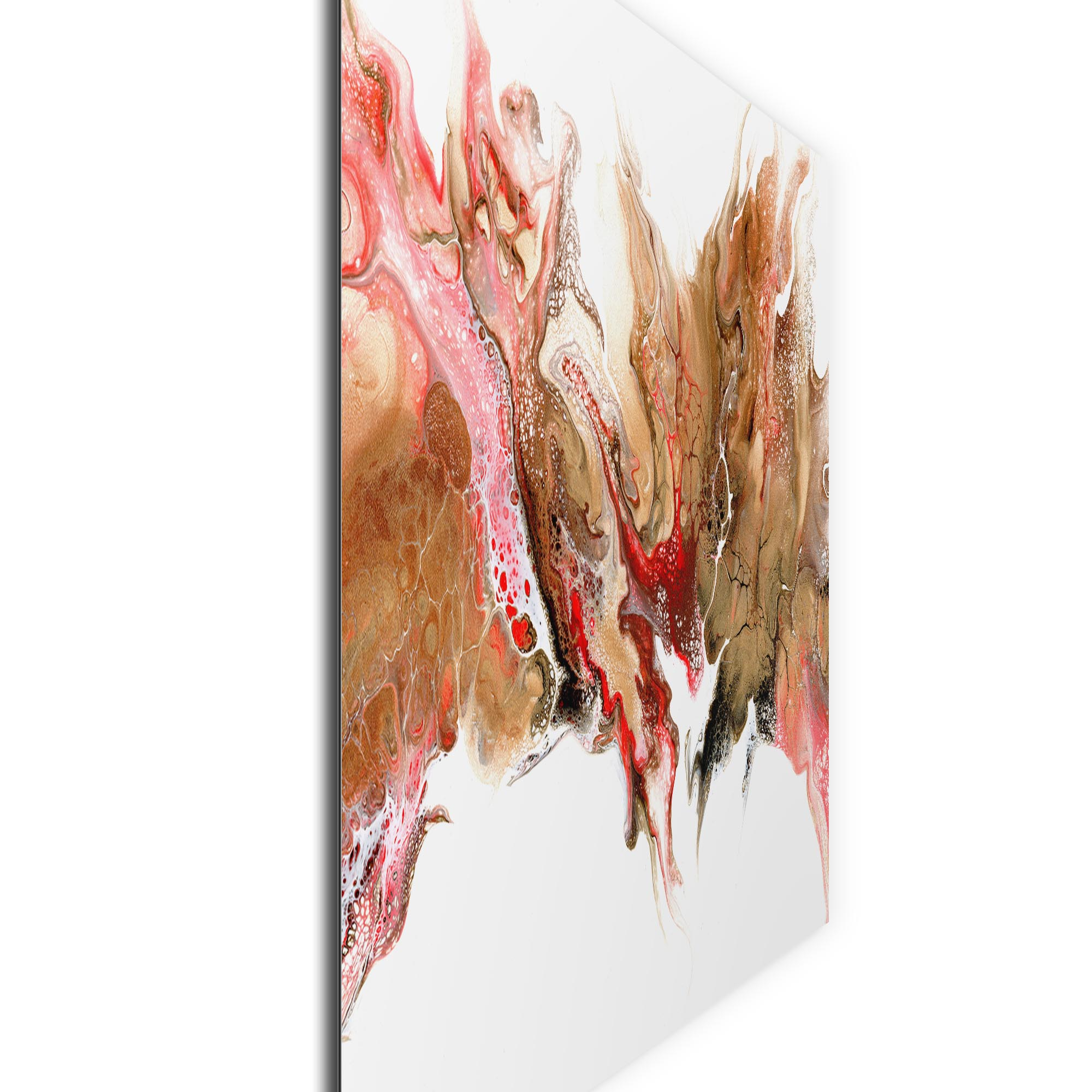 Swelter by Elana Reiter - Abstract Wall Art, Modern Home Decor (32in x 24in) - Image 2