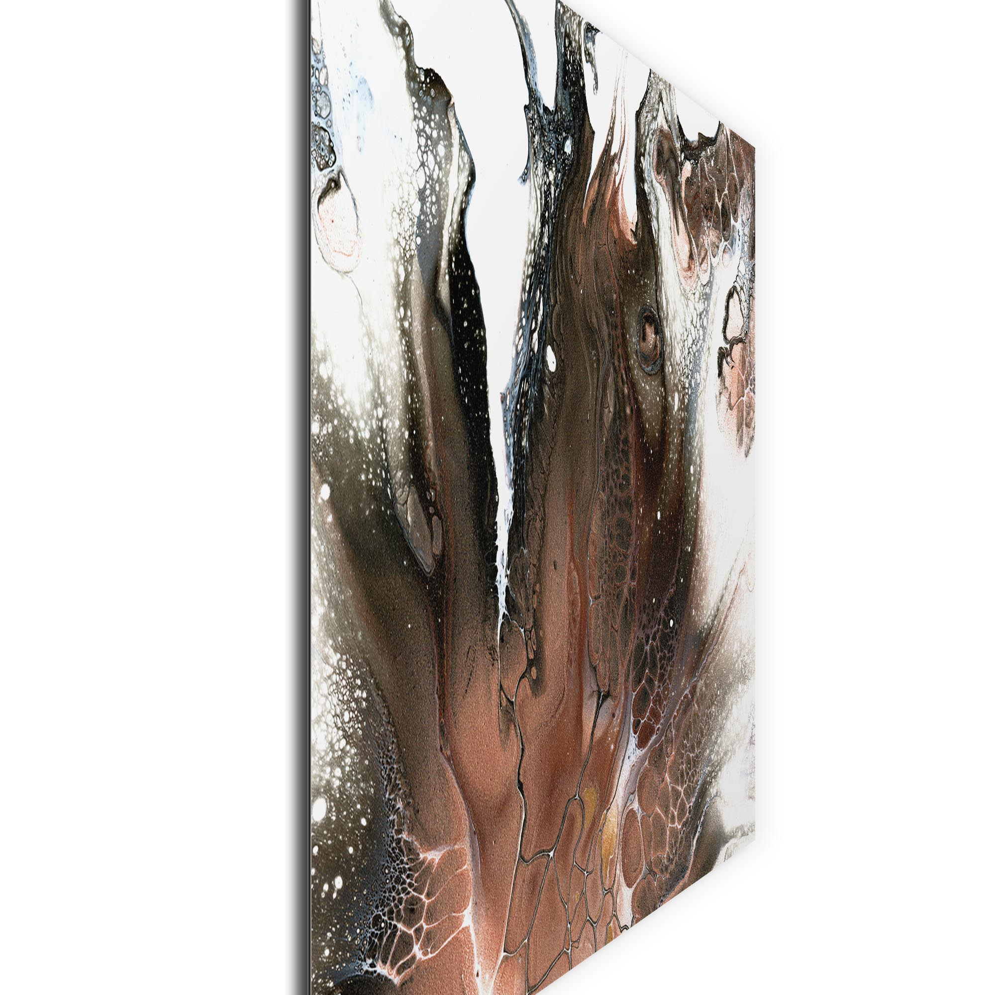Ashen by Elana Reiter - Abstract Wall Art, Modern Home Decor (32in x 24in) - Image 2