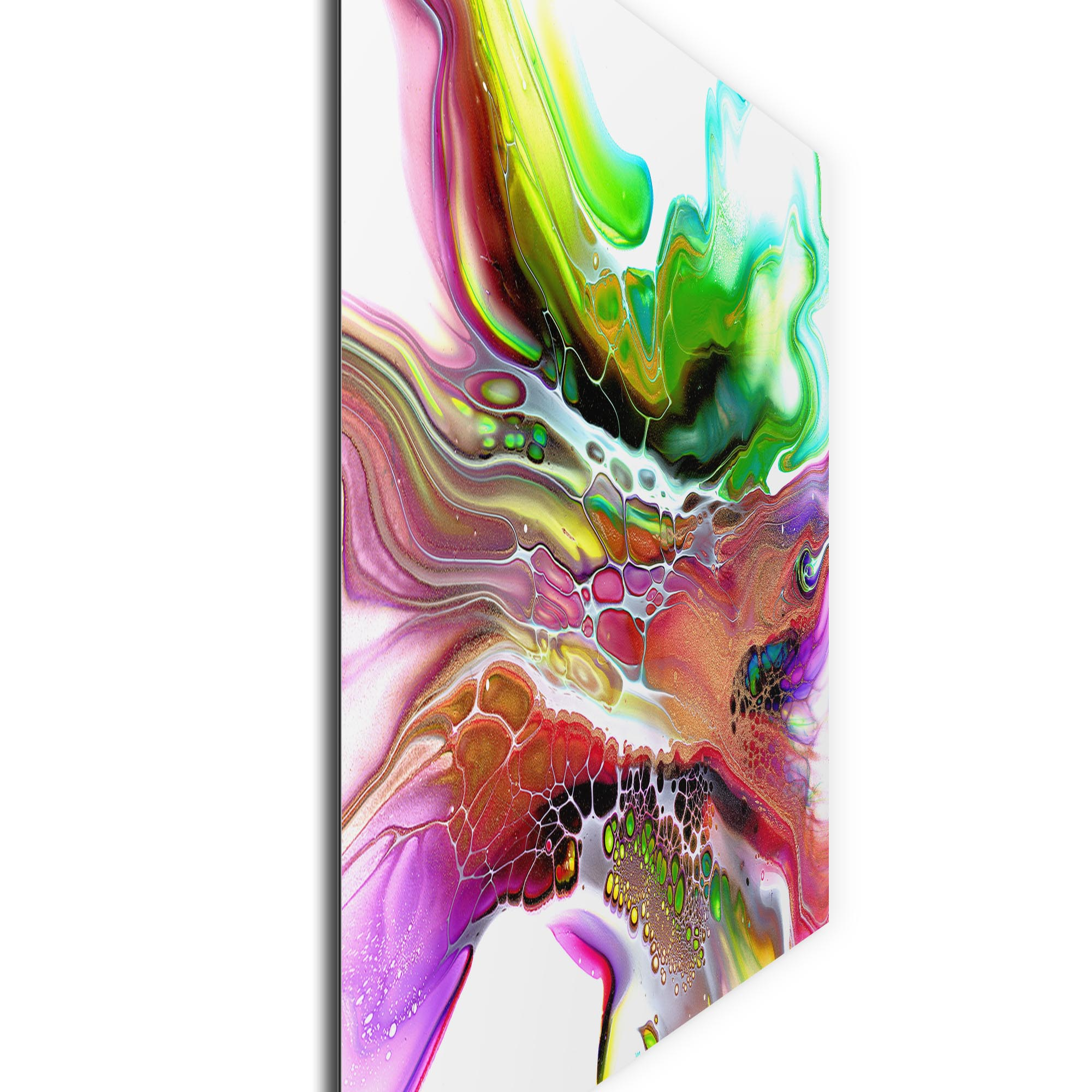 Compression by Elana Reiter - Abstract Wall Art, Modern Home Decor (32in x 24in) - Image 2