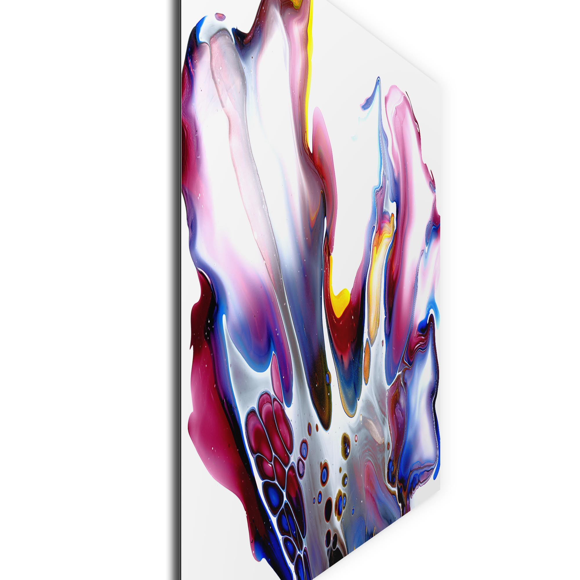 Slick by Elana Reiter - Abstract Wall Art, Modern Home Decor (32in x 24in) - Image 2