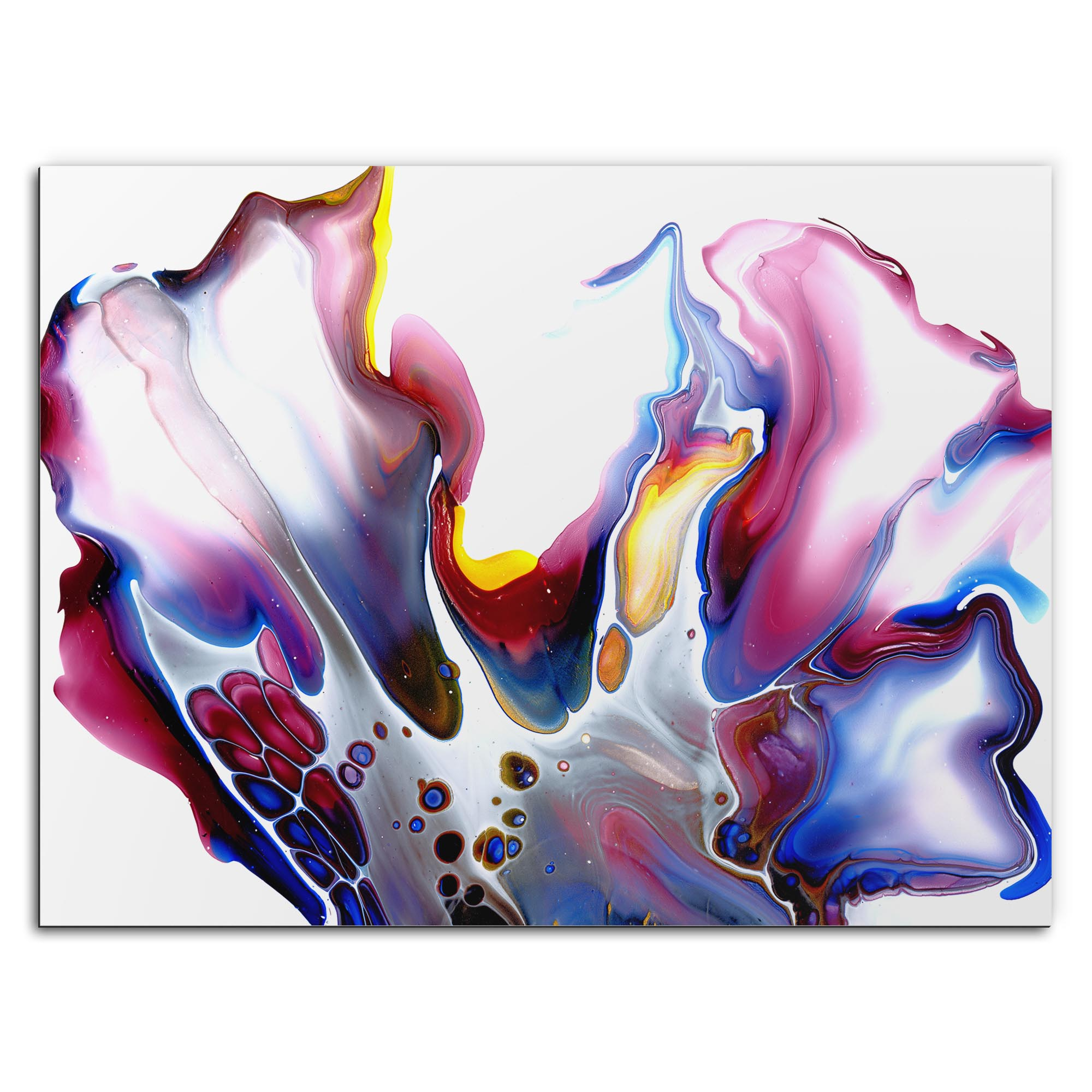 Elana Reiter 'Slick' 32in x 24in Contemporary Style Abstract Wall Art