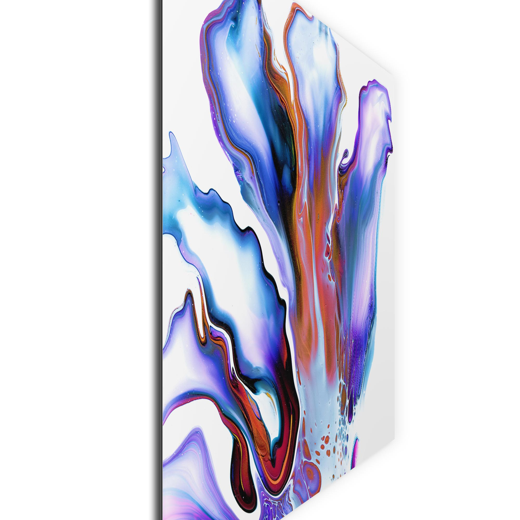 Blossom by Elana Reiter - Abstract Wall Art, Modern Home Decor (32in x 24in) - Image 2