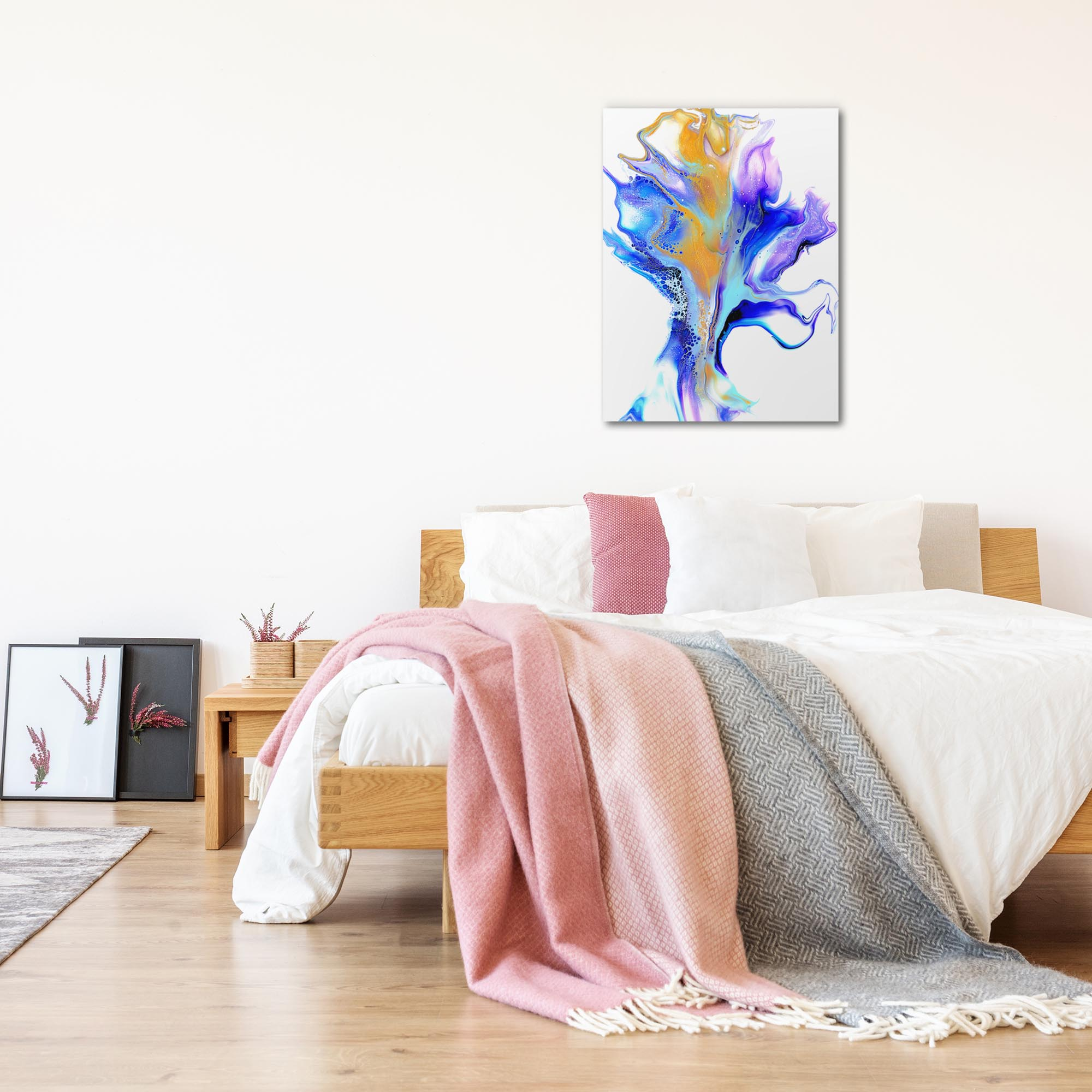 Dance by Elana Reiter - Abstract Wall Art, Modern Home Decor (24in x 32in) - Lifestyle View