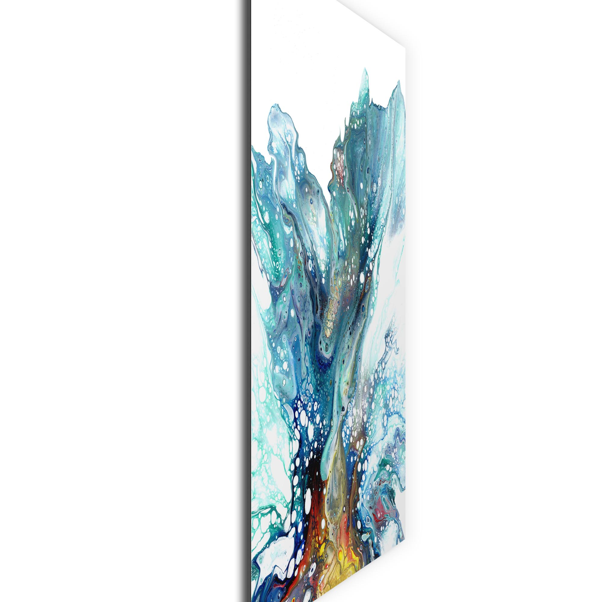 Glacier by Elana Reiter - Abstract Wall Art, Modern Home Decor (24in x 32in) - Image 2