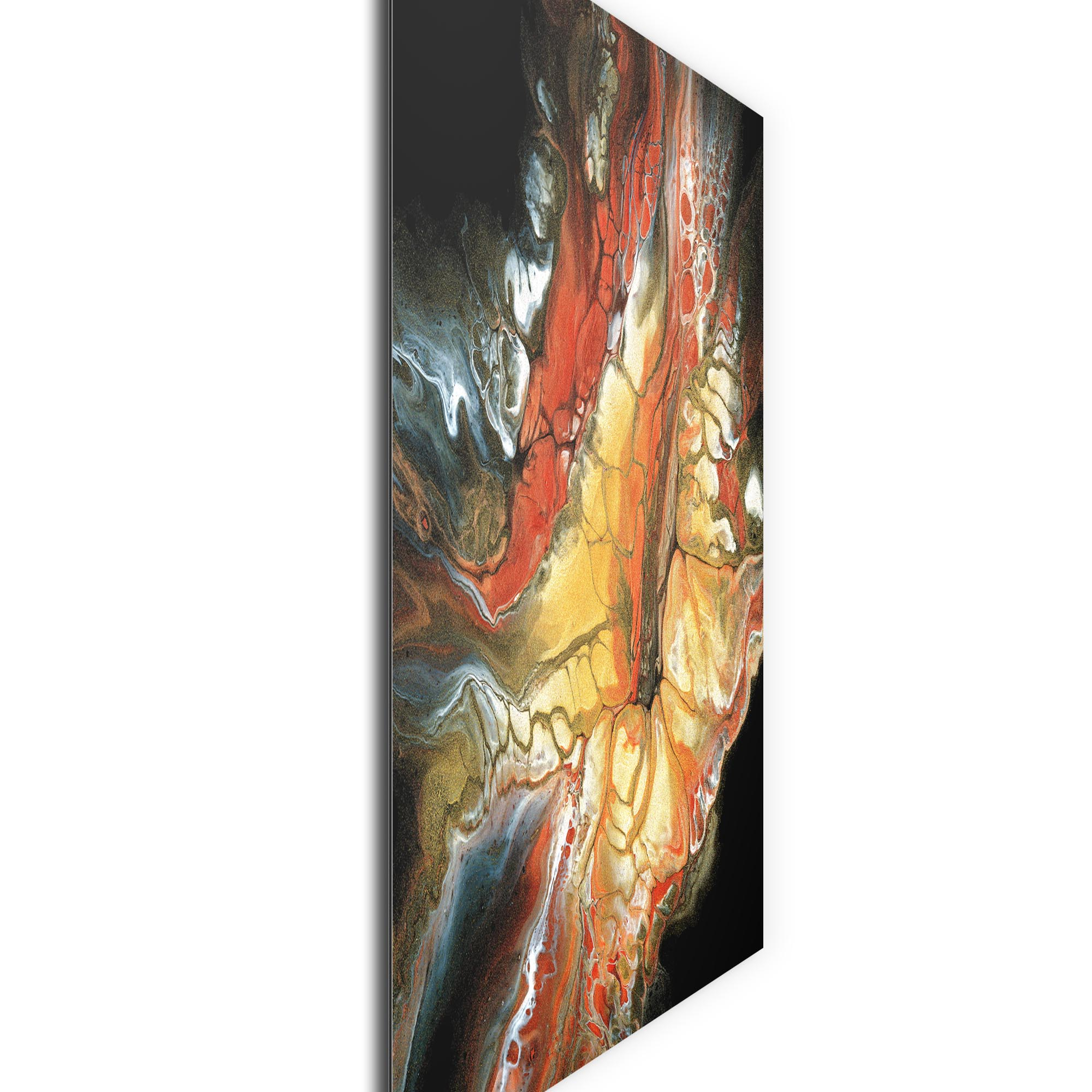 Core by Elana Reiter - Abstract Wall Art, Modern Home Decor (36in x 36in) - Image 2
