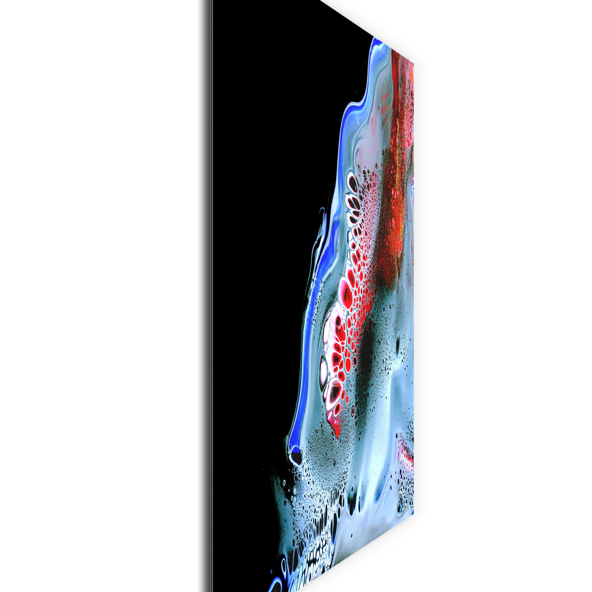 Slipping by Elana Reiter - Abstract Wall Art, Modern Home Decor (36in x 36in) - Image 2