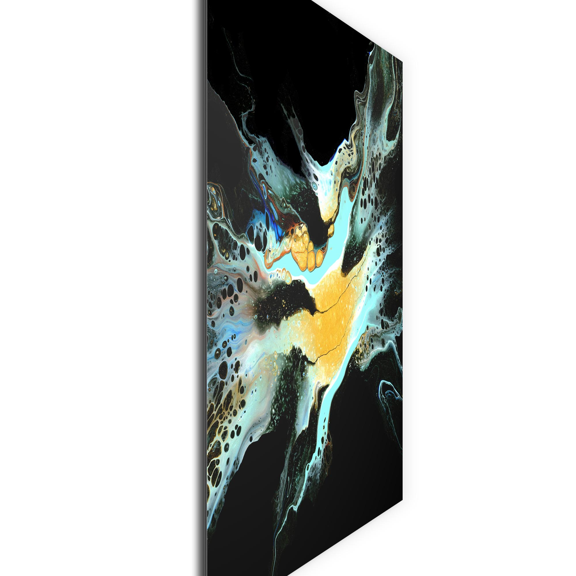 Glimpse by Elana Reiter - Abstract Wall Art, Modern Home Decor (36in x 36in) - Image 2