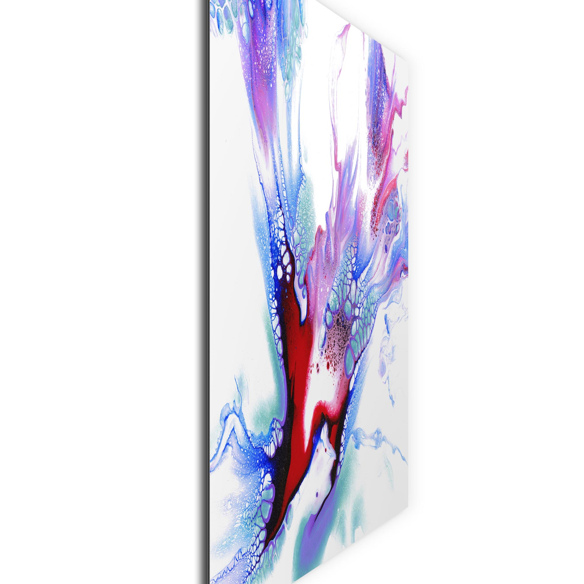 Concealed by Elana Reiter - Abstract Wall Art, Modern Home Decor (36in x 36in) - Image 2