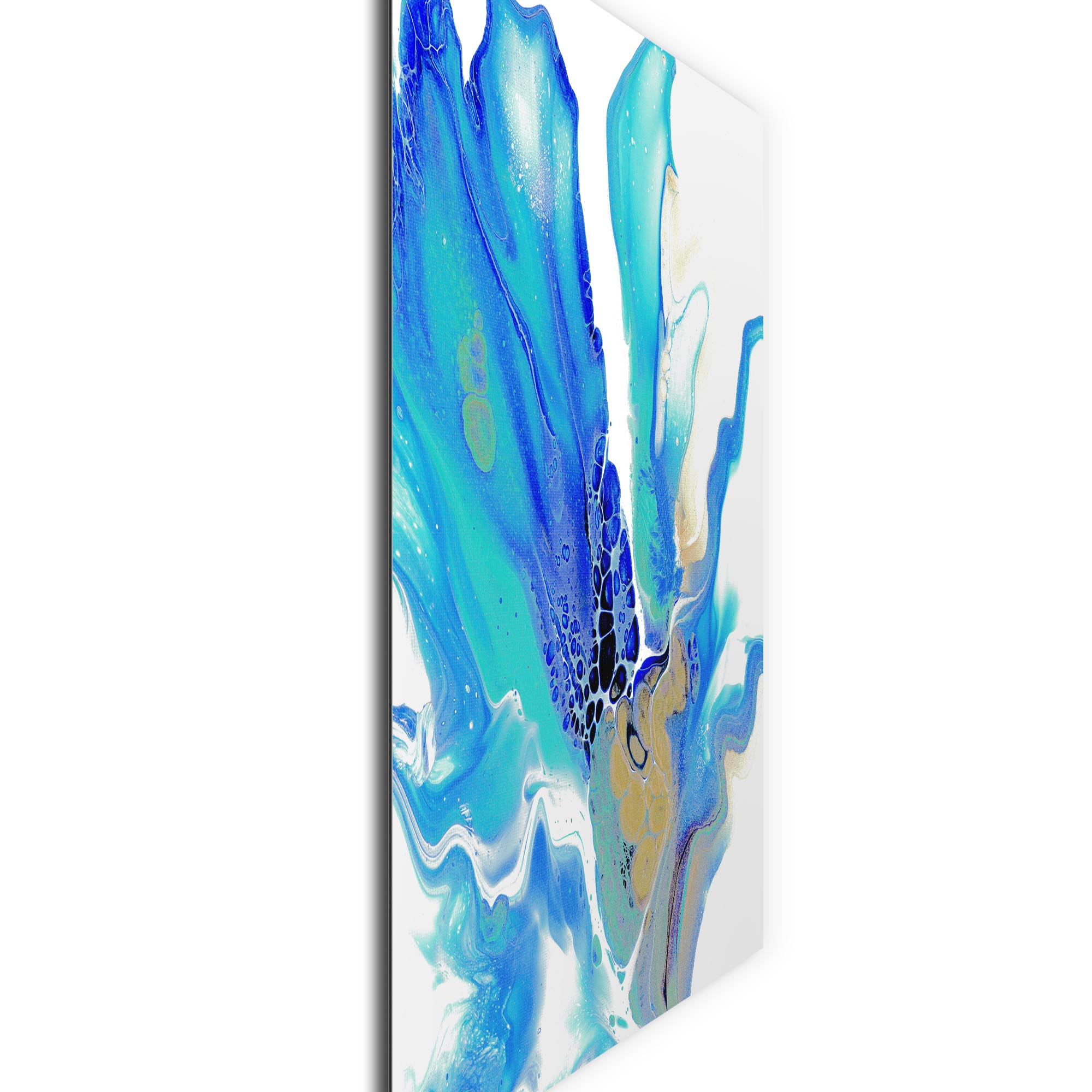 Arctic by Elana Reiter - Abstract Wall Art, Modern Home Decor (36in x 36in) - Image 2