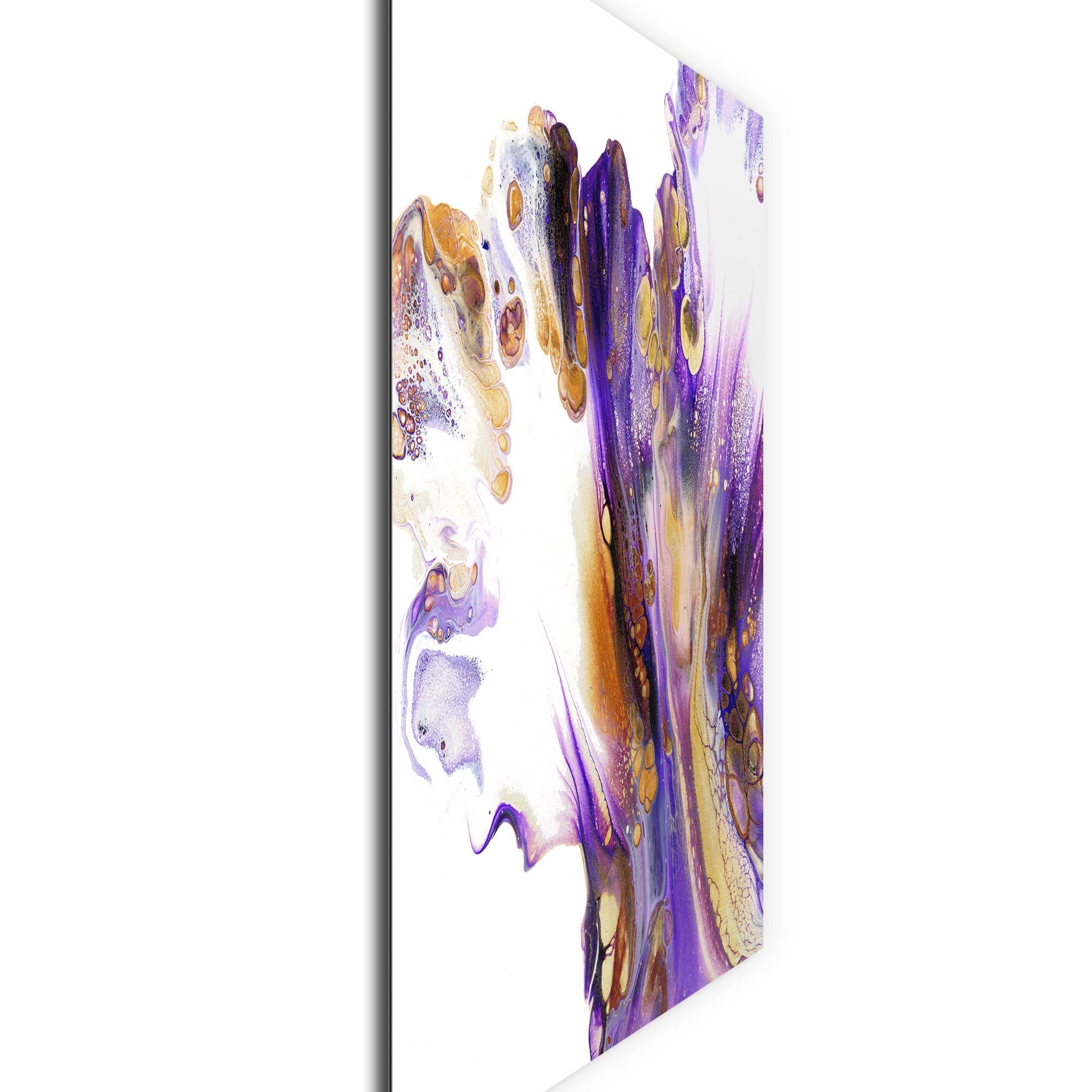 Feathered by Elana Reiter - Abstract Wall Art, Modern Home Decor (36in x 36in) - Image 2
