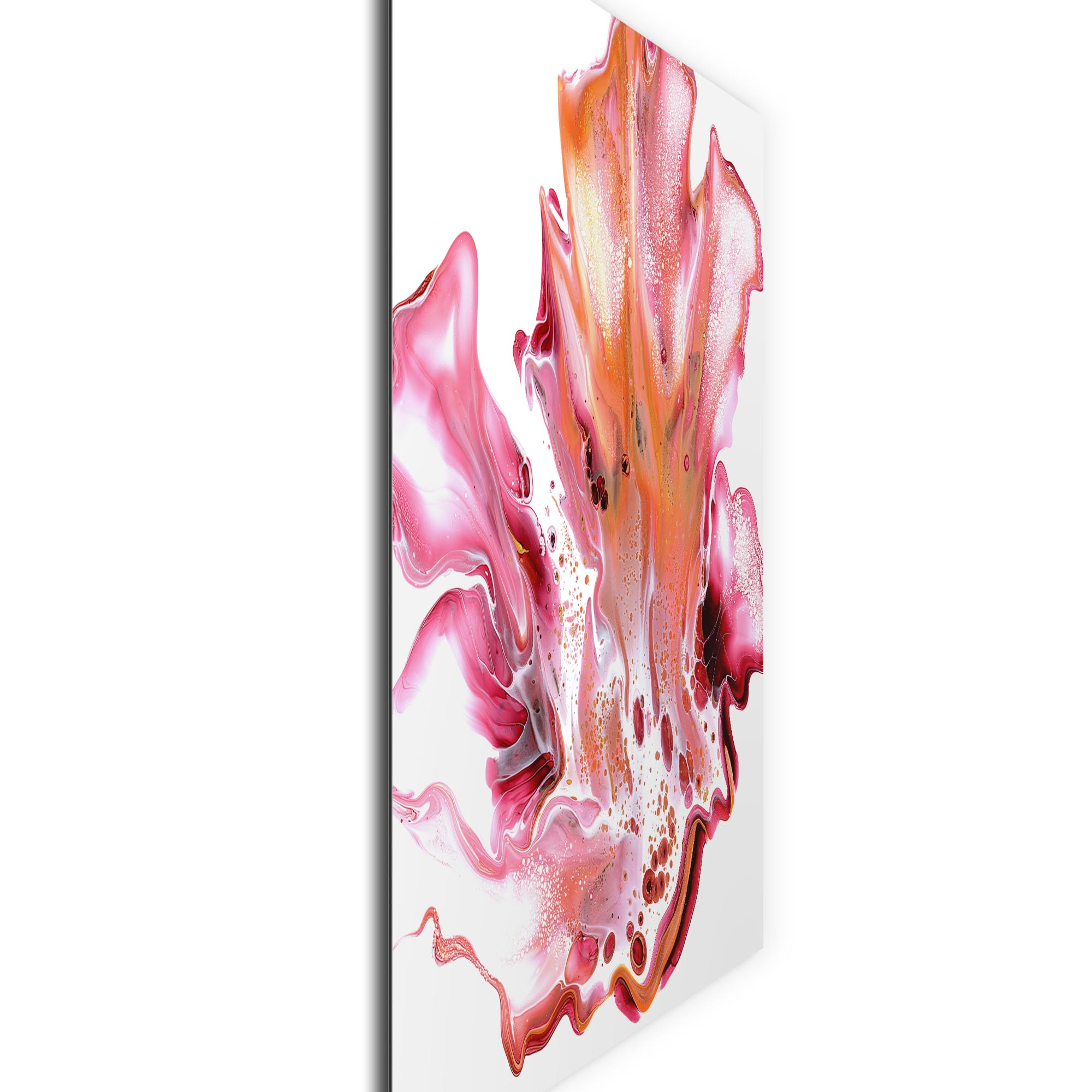 Floral by Elana Reiter - Abstract Wall Art, Modern Home Decor (36in x 36in) - Image 2