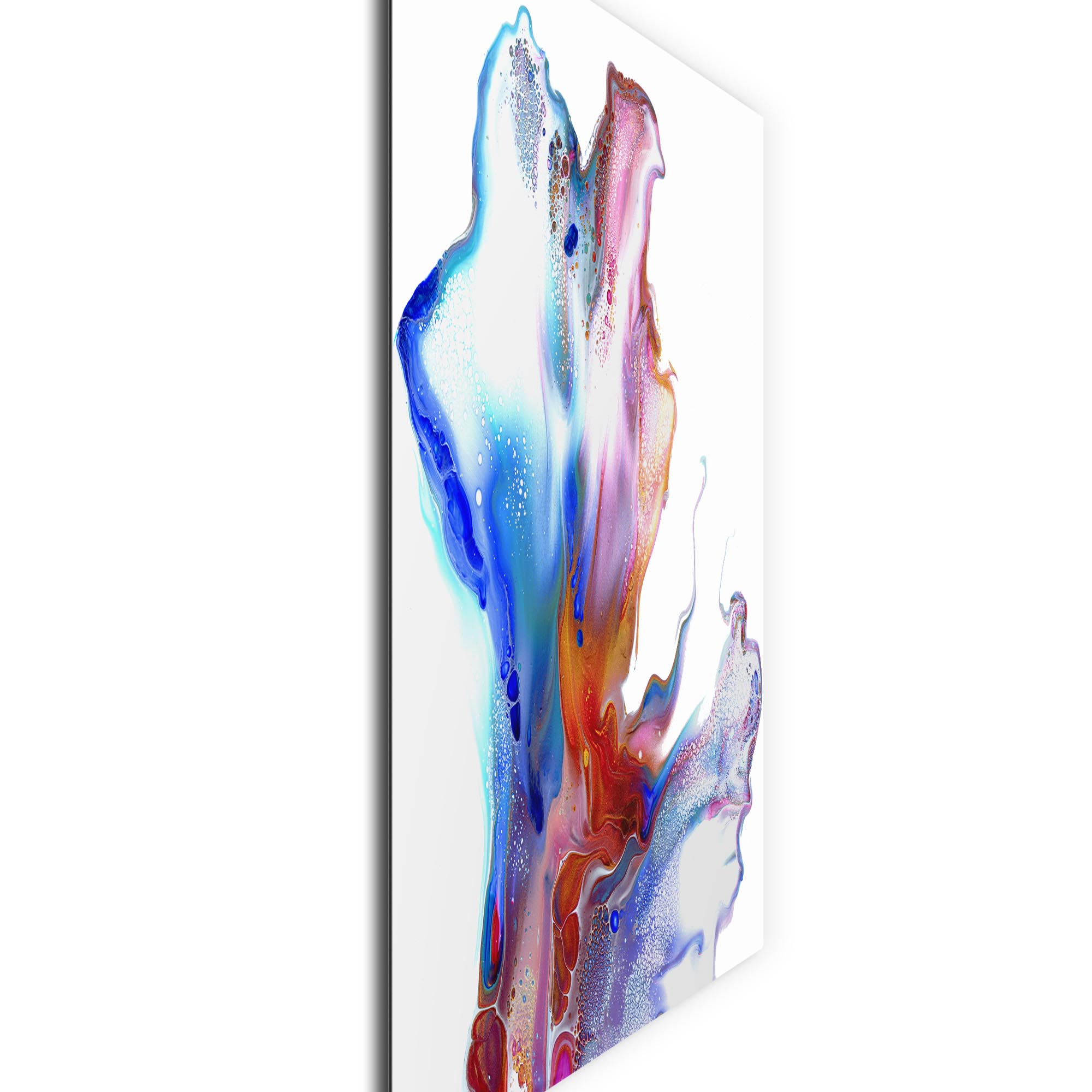 Hinged by Elana Reiter - Abstract Wall Art, Modern Home Decor (36in x 36in) - Image 2