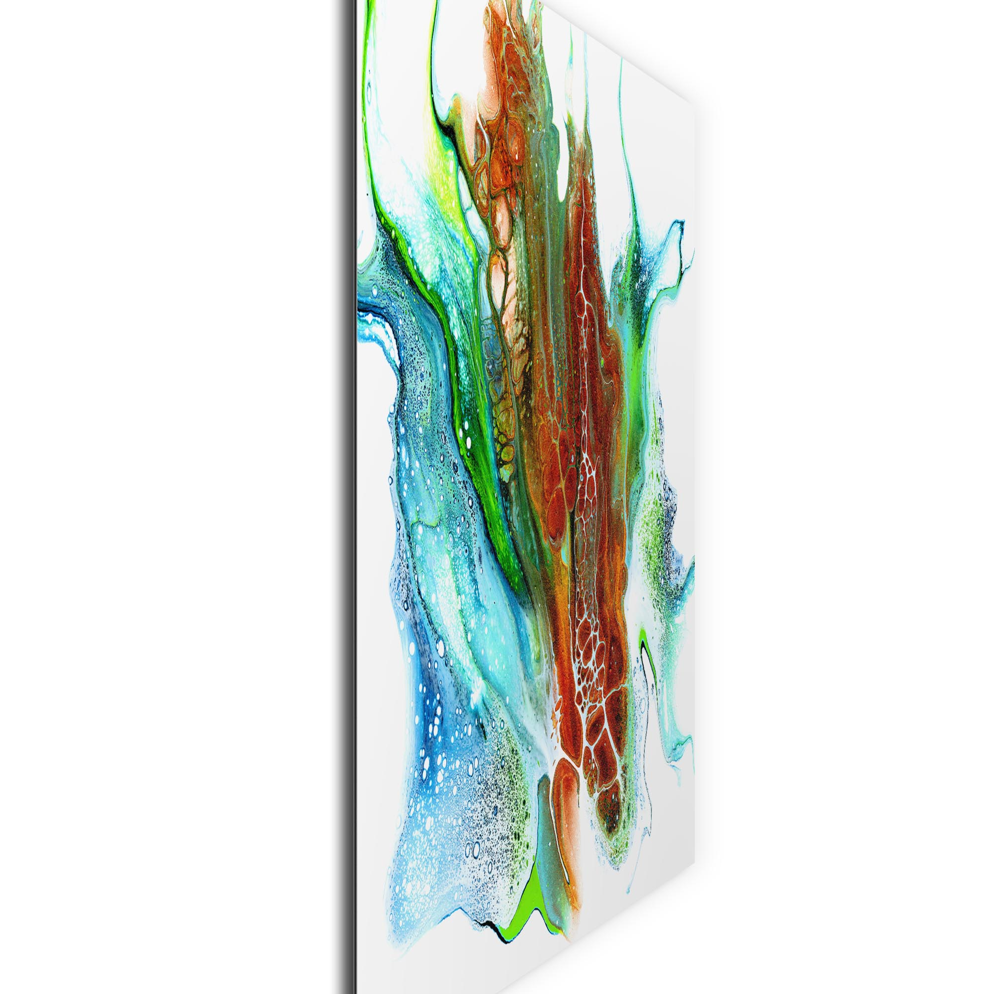 Oxidation by Elana Reiter - Abstract Wall Art, Modern Home Decor (36in x 36in) - Image 2