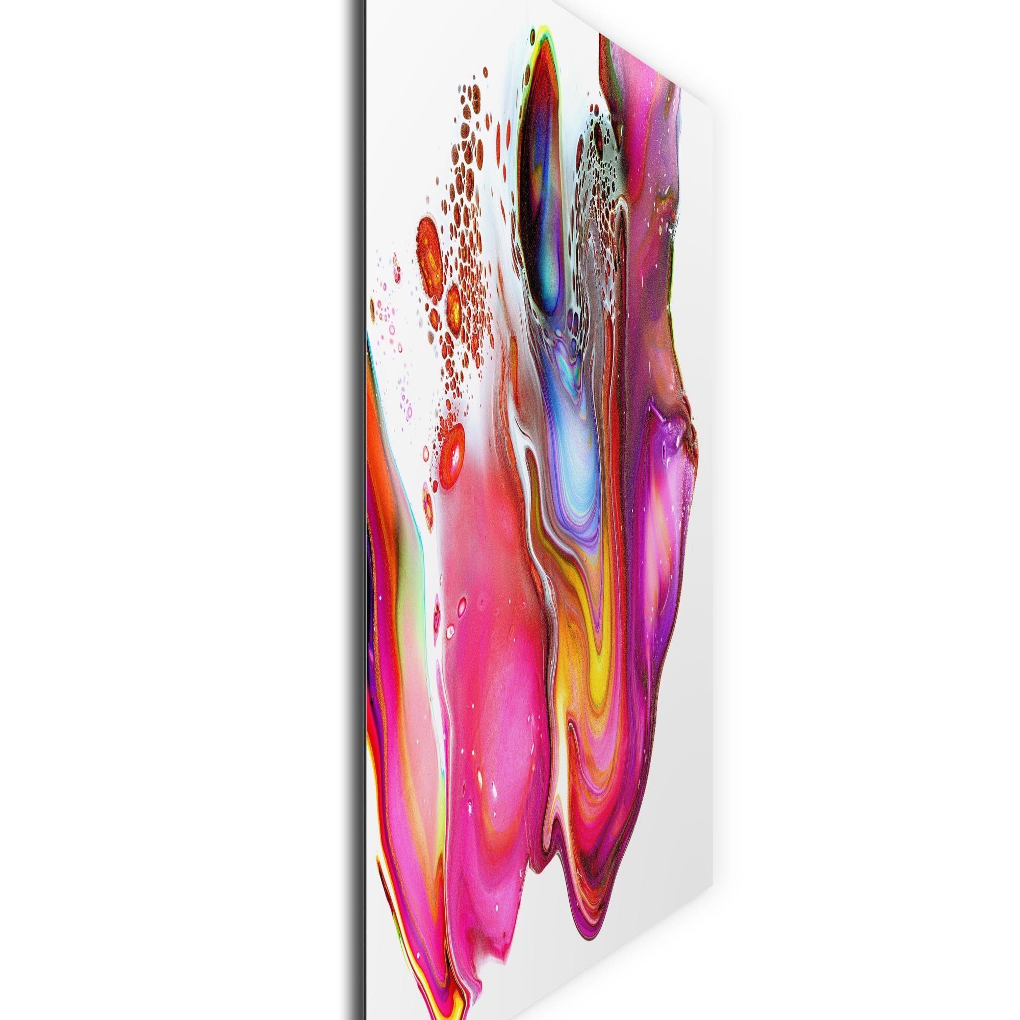 Warped by Elana Reiter - Abstract Wall Art, Modern Home Decor (36in x 36in) - Image 2