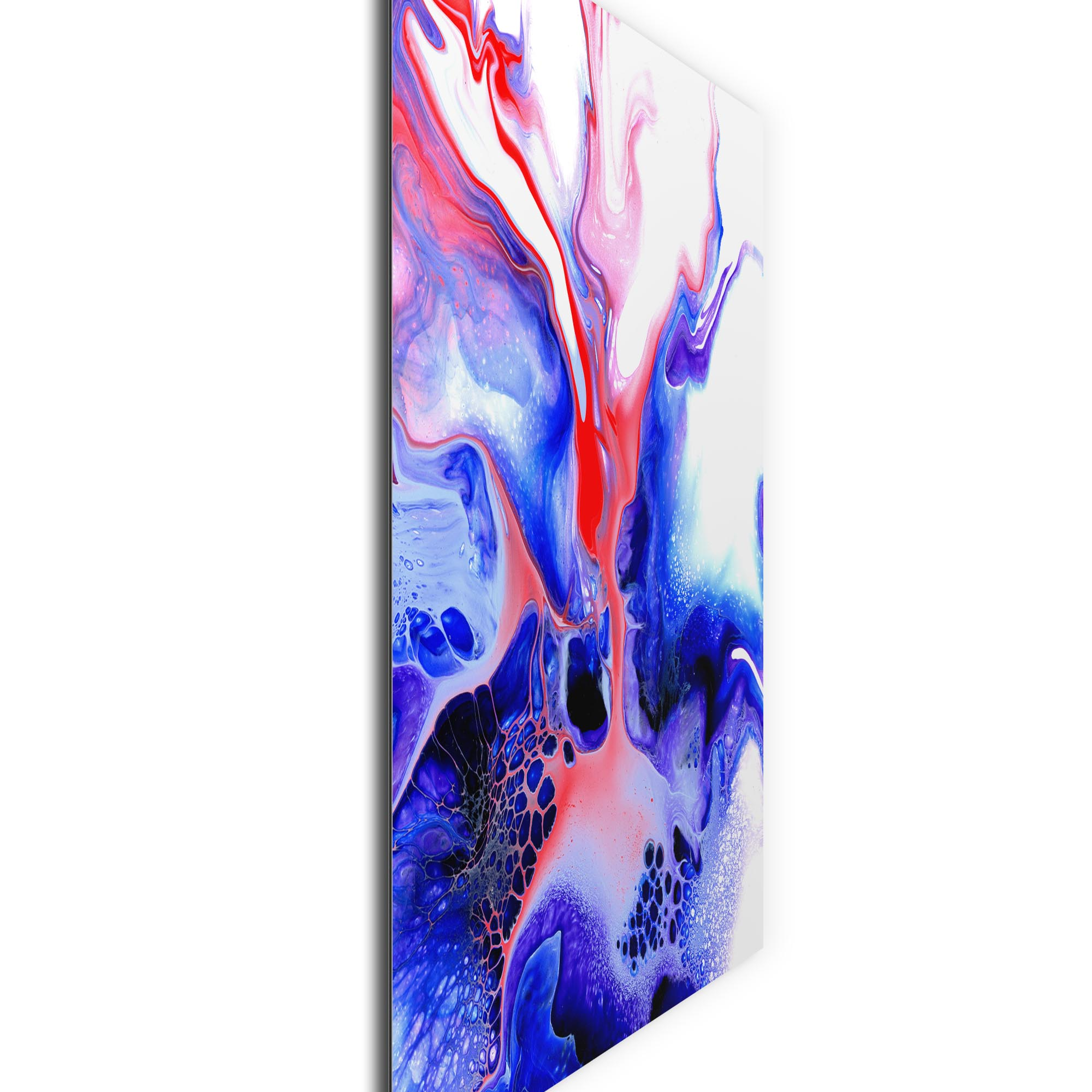 Thermal by Elana Reiter - Abstract Wall Art, Modern Home Decor (36in x 36in) - Image 2