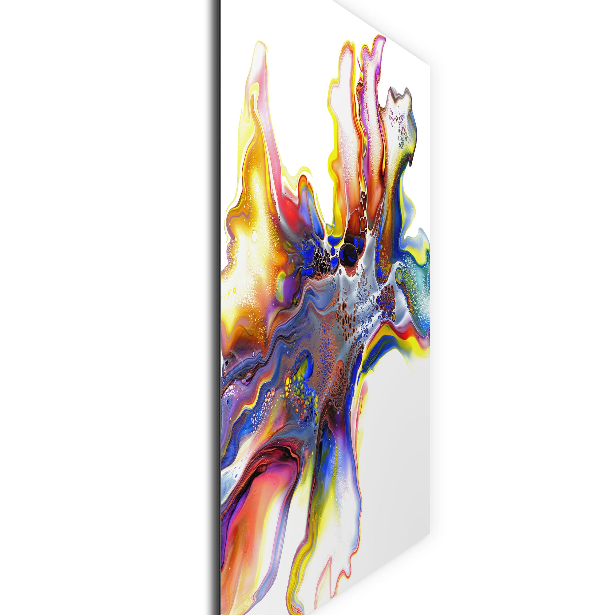 Medley by Elana Reiter - Abstract Wall Art, Modern Home Decor (36in x 36in) - Image 2