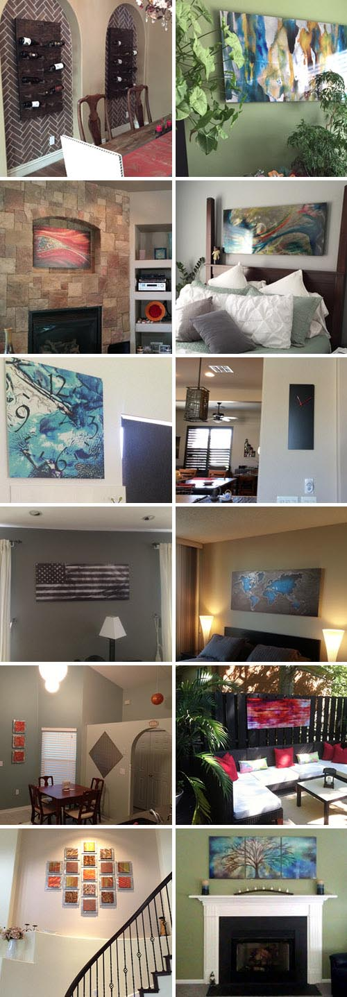 Modern Crowd, Inc | Buyer-Submitted Photos of Our Art & Decor