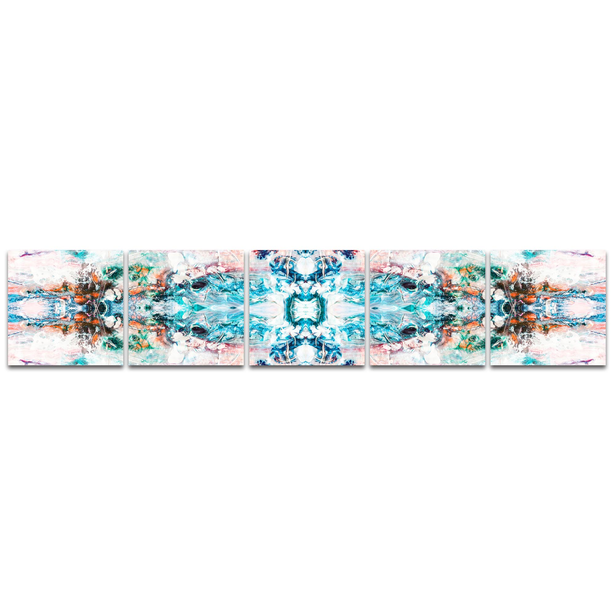 Abstract Wall Art 'Celestial' - Colorful Urban Decor on Metal or Plexiglass