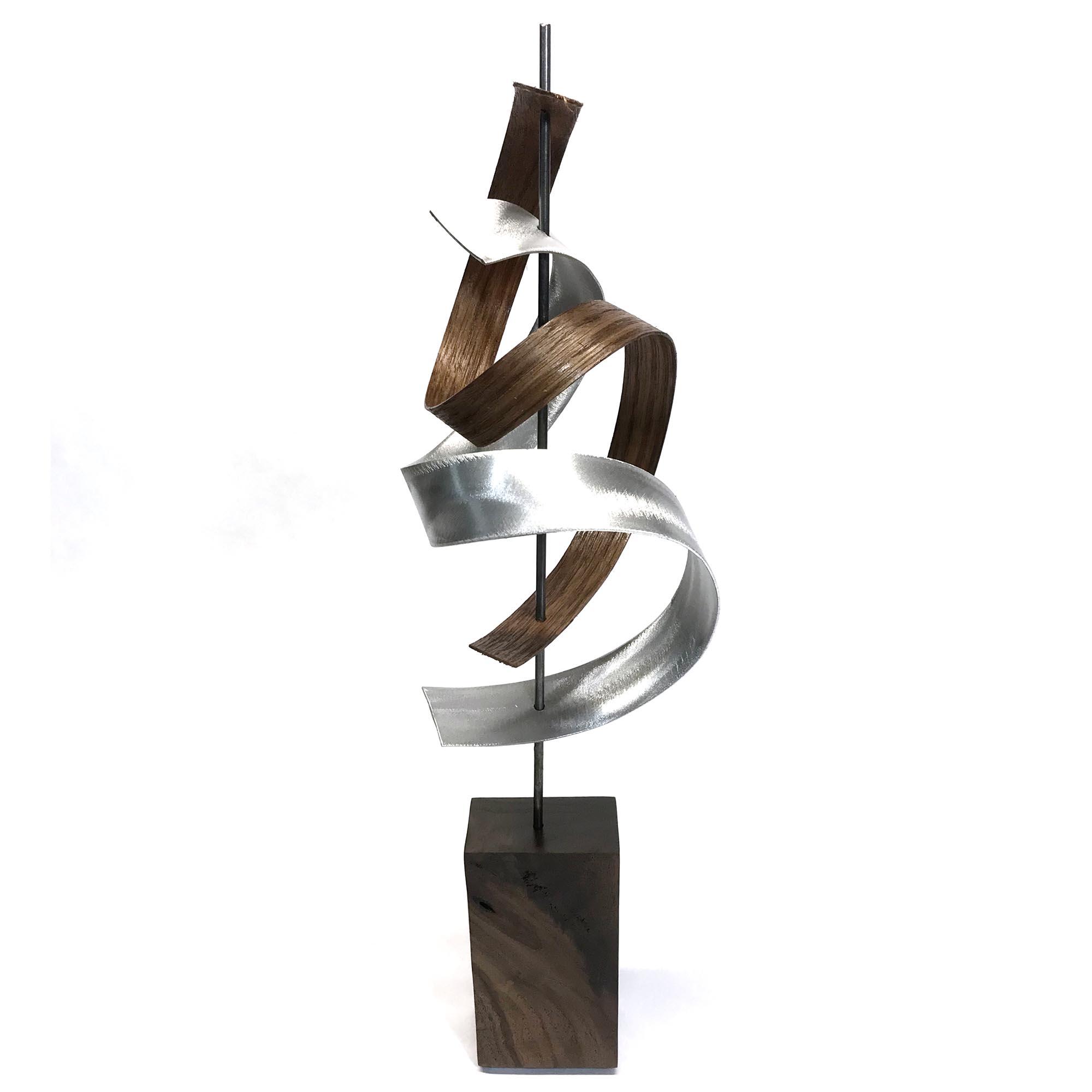Waltz by Jackson Wright - Modern Wood Sculpture, Mid-Century Home Decor - Image 2