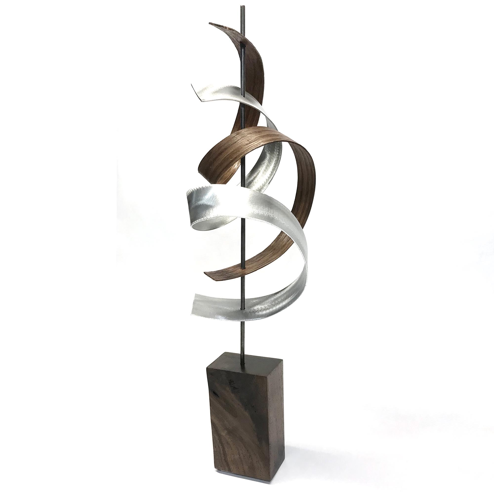 Waltz by Jackson Wright - Modern Wood Sculpture, Mid-Century Home Decor - Image 3