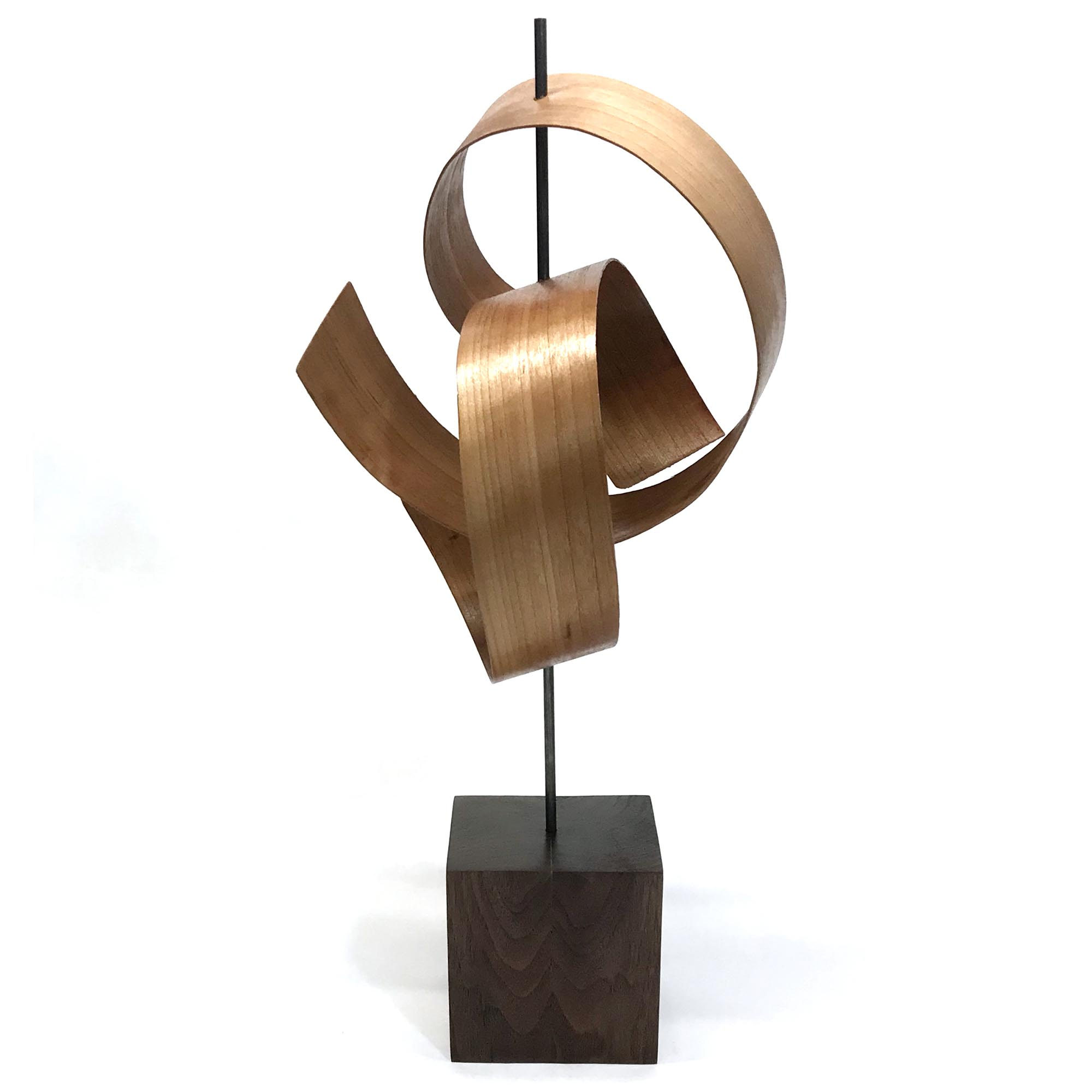 Ripcurl M by Jackson Wright - Modern Wood Sculpture, Mid-Century Home Decor - Image 2