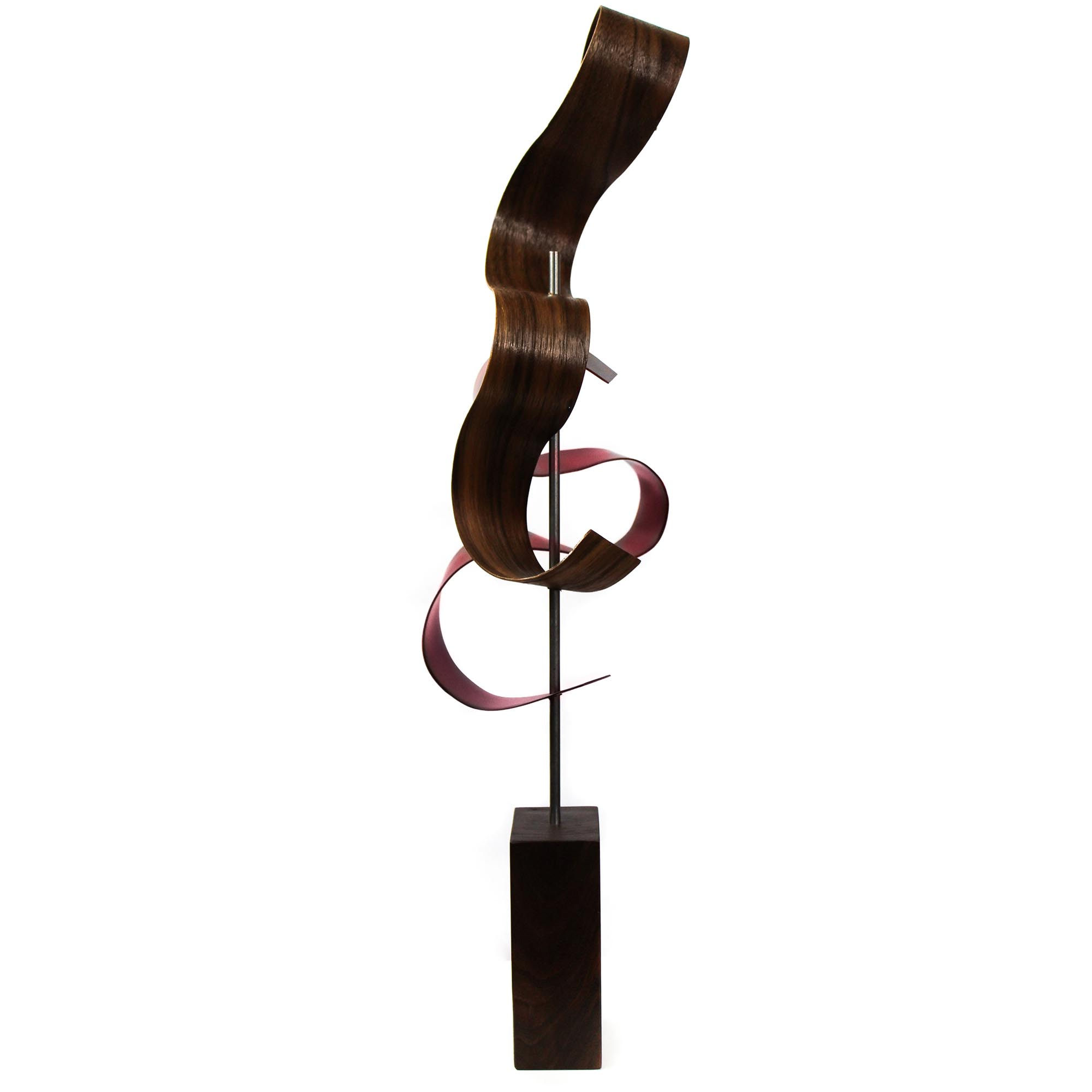 Lava by Jackson Wright - Modern Wood Sculpture, Mid-Century Home Decor - Image 3