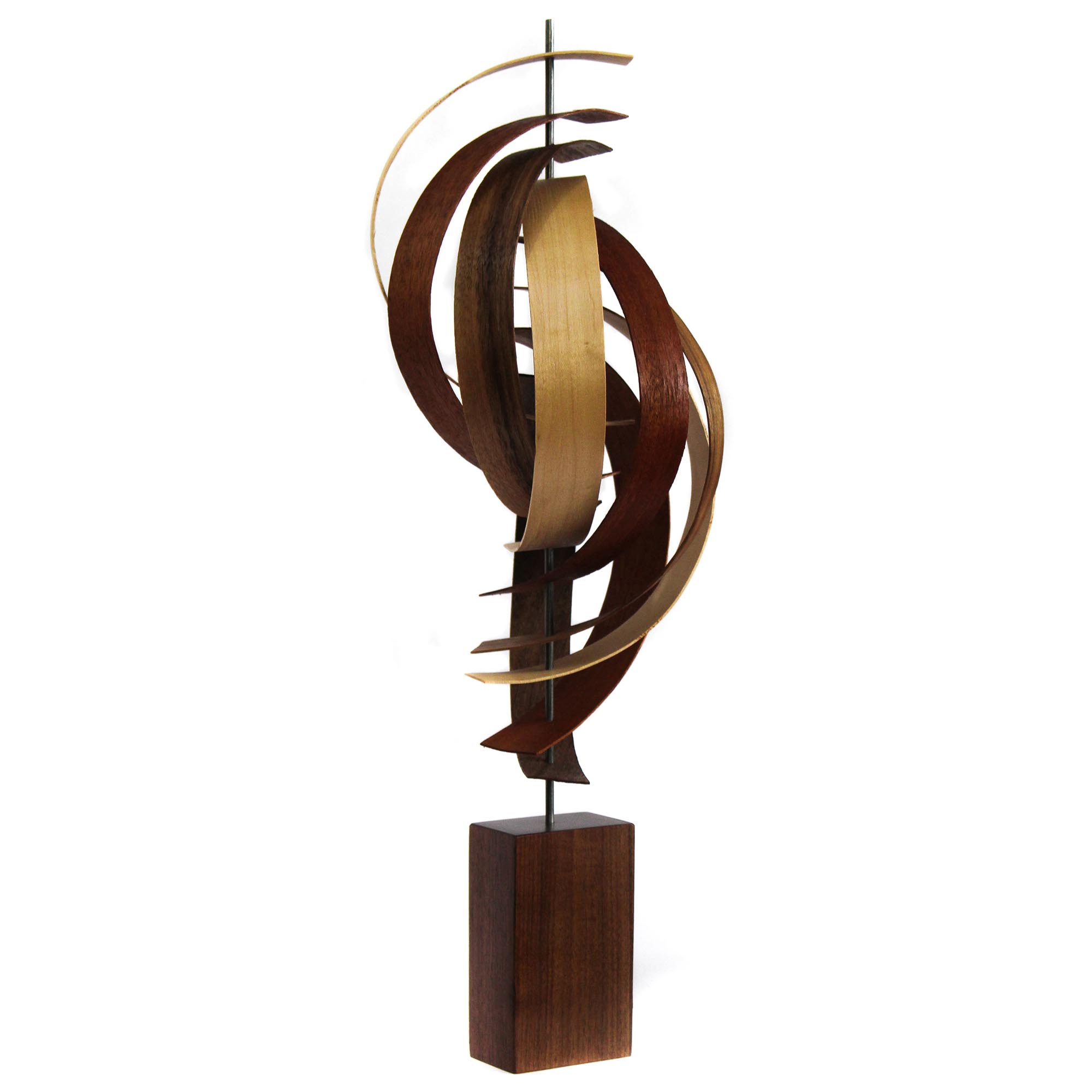 Reach by Jackson Wright - Modern Wood Sculpture, Mid-Century Home Decor - Image 2